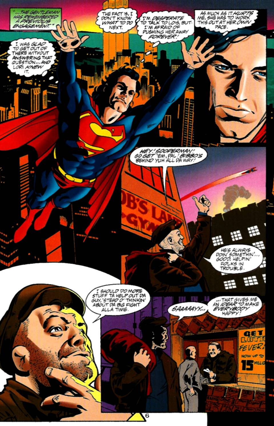 Read online Adventures of Superman (1987) comic -  Issue #534 - 7