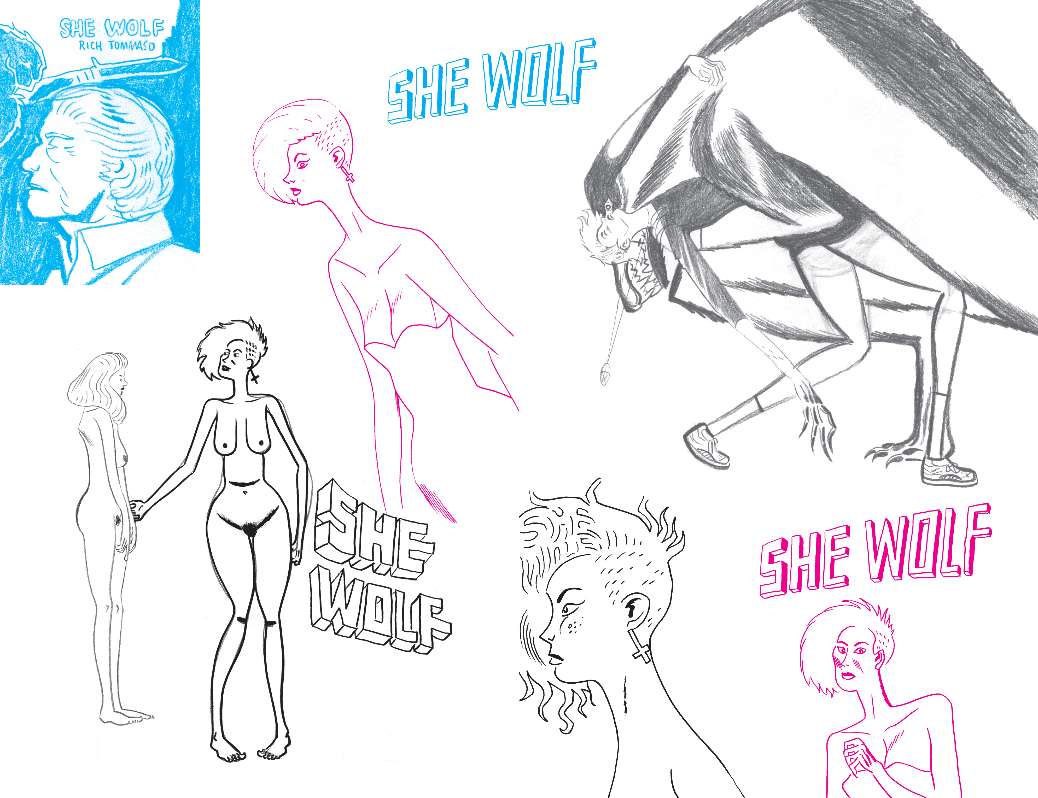 Read online She Wolf comic -  Issue #7 - 22