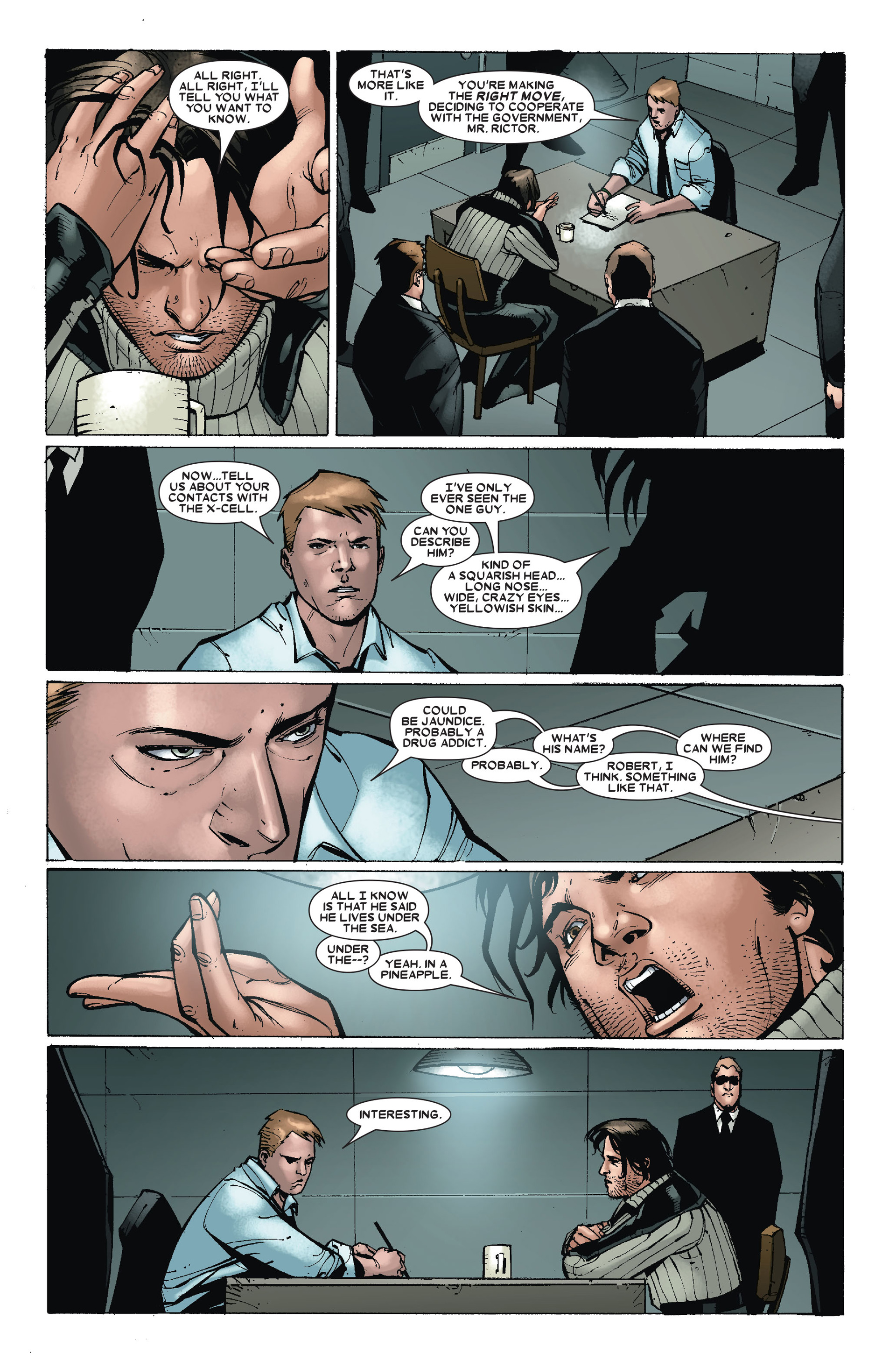 Read online X-Factor (2006) comic -  Issue #18 - 7