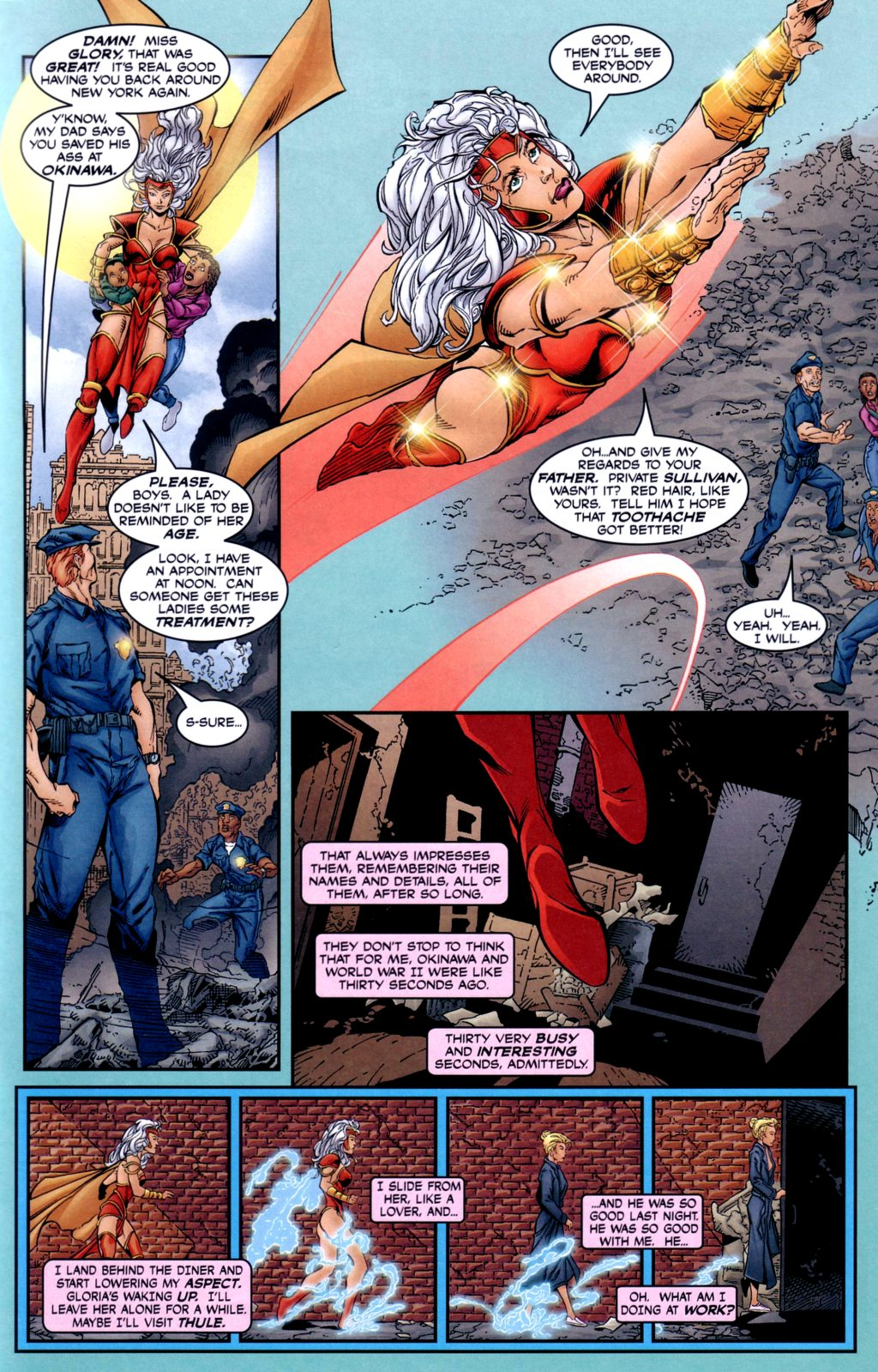 Read online Alan Moore's Glory comic -  Issue #2 - 5