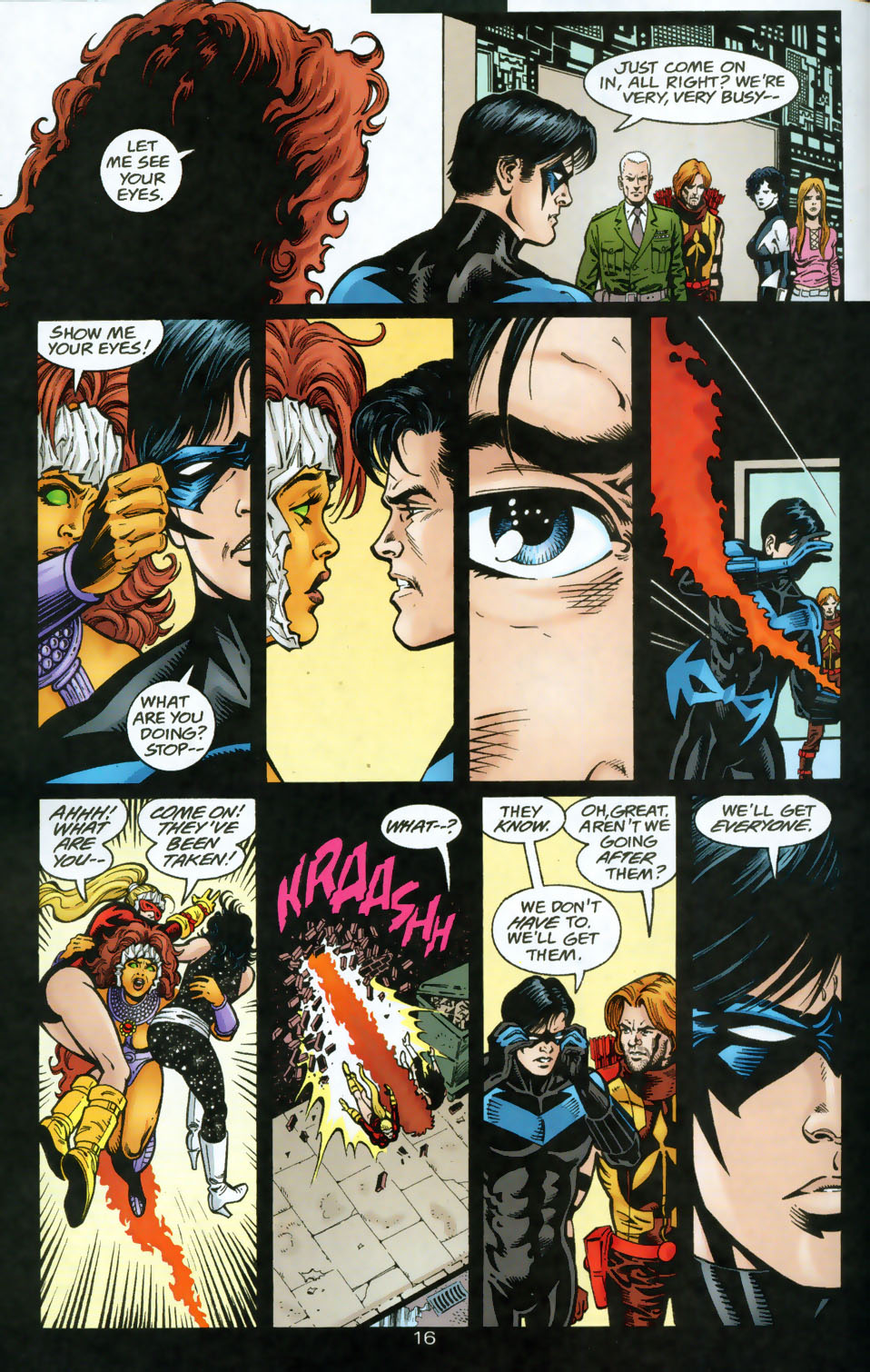 Read online The Titans (1999) comic -  Issue #49 - 17
