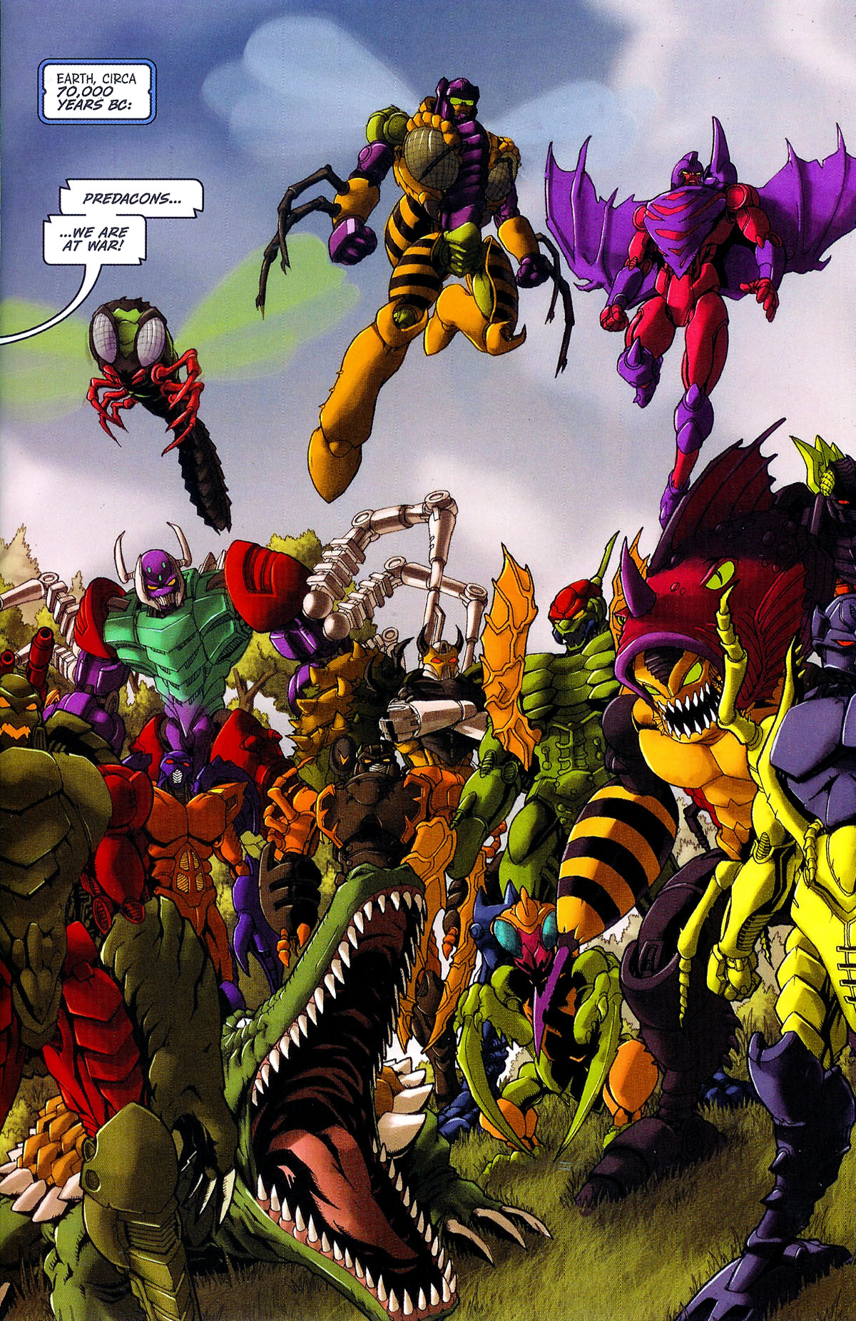 Read online Transformers, Beast Wars: The Gathering comic -  Issue #2 - 4