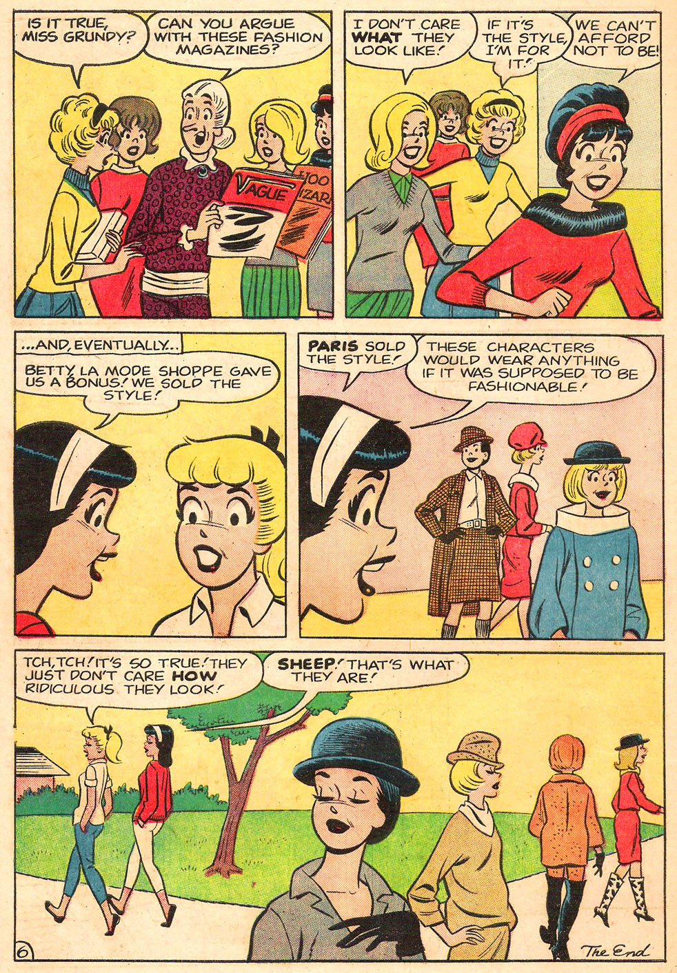 Read online Archie's Girls Betty and Veronica comic -  Issue #98 - 18