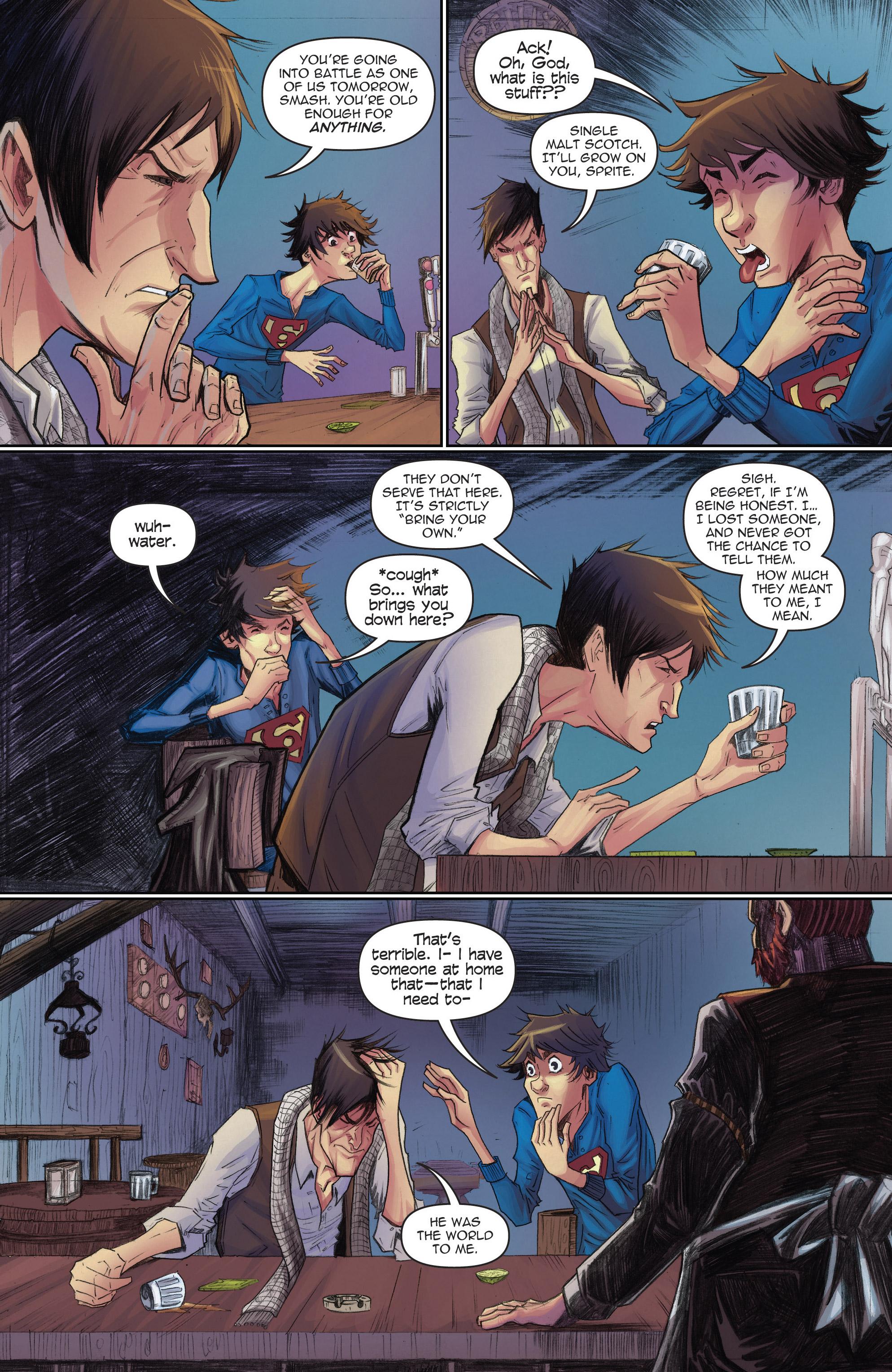 Read online Infinite Seven comic -  Issue #3 - 4