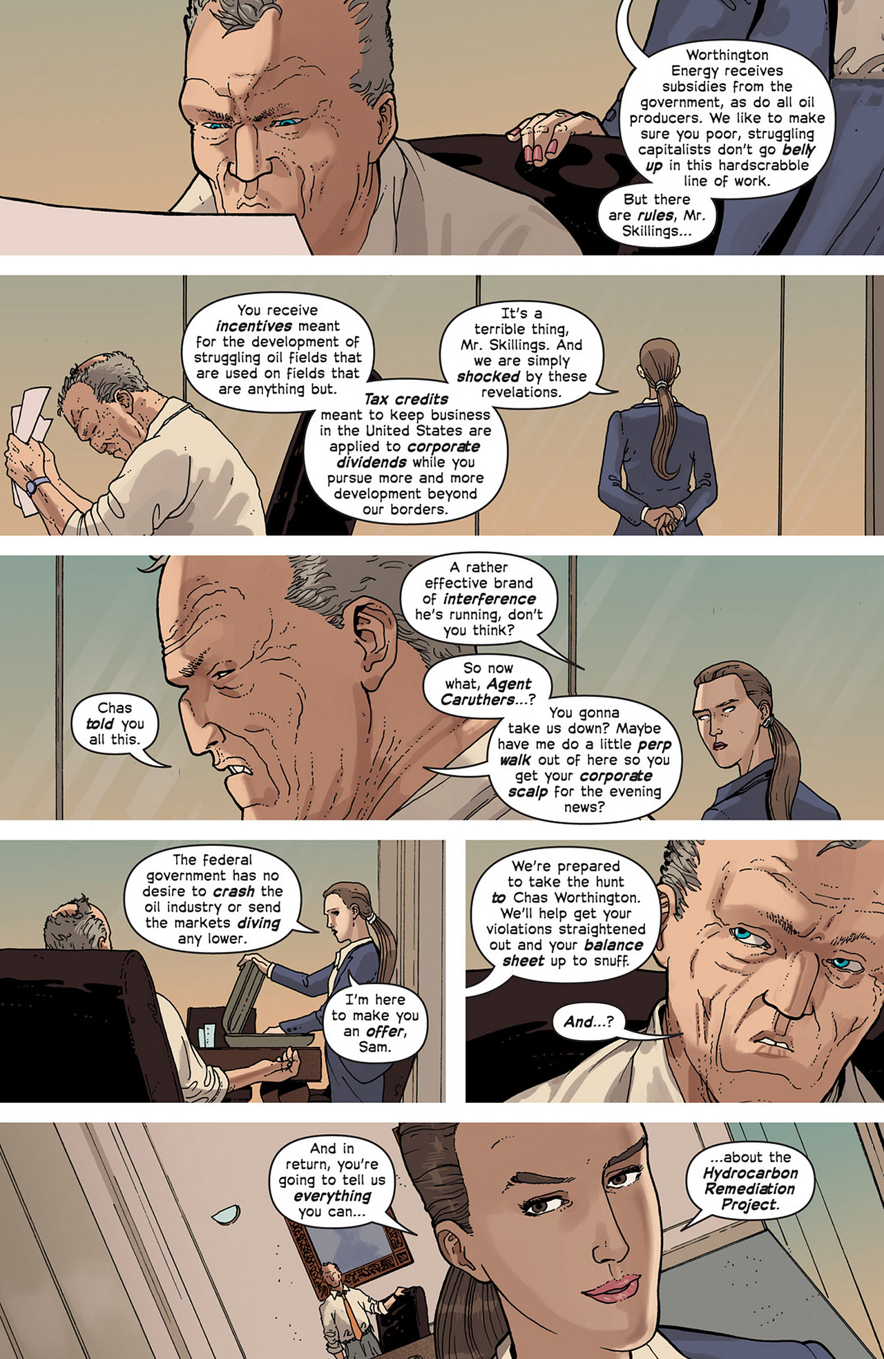 Read online Great Pacific comic -  Issue #2 - 10