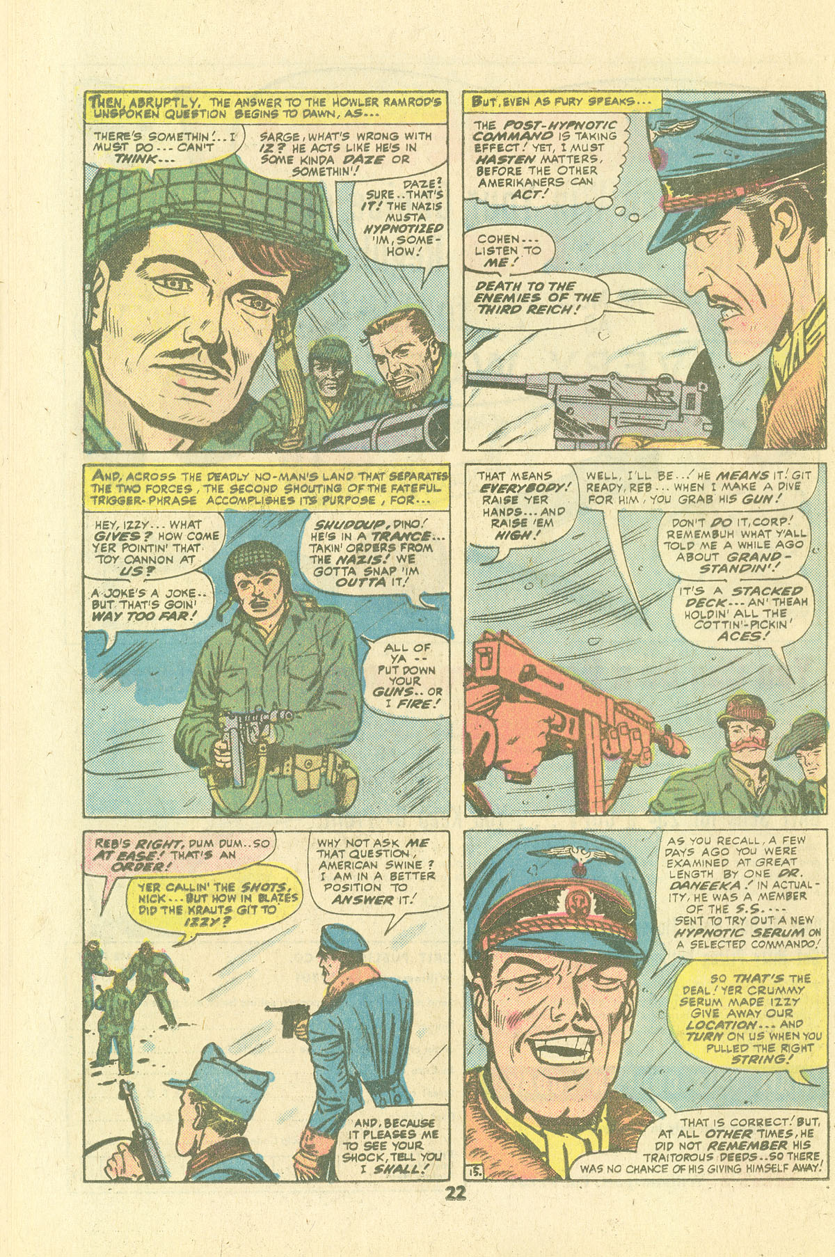Read online Sgt. Fury comic -  Issue #134 - 24