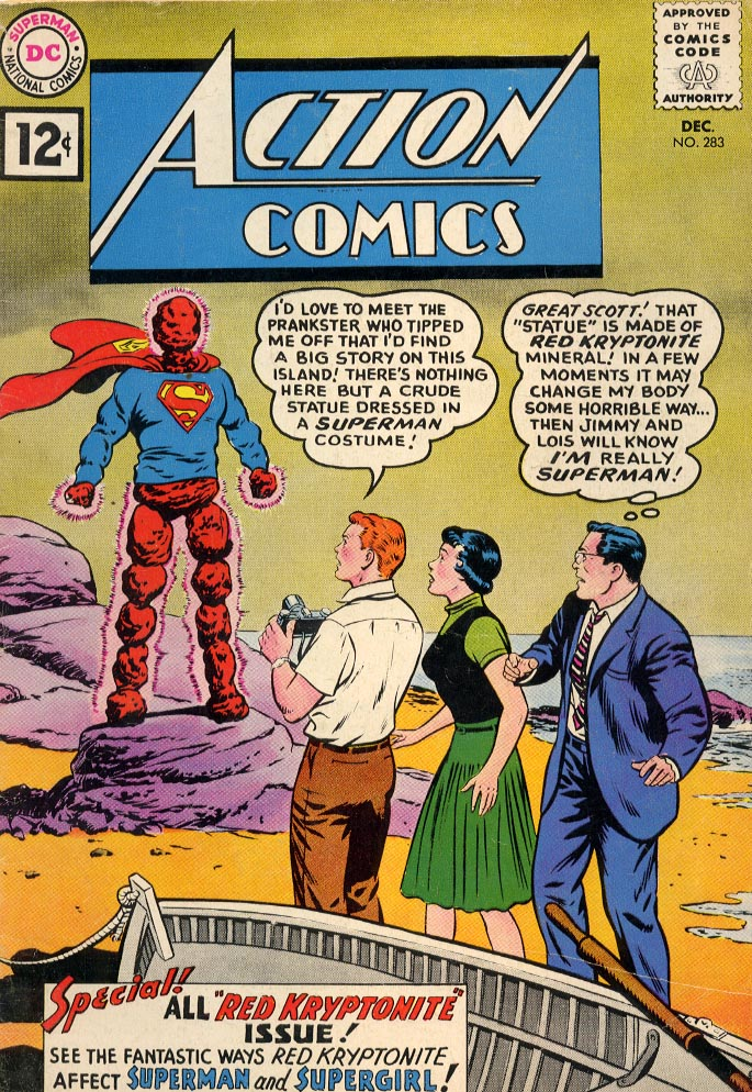 Read online Action Comics (1938) comic -  Issue #283 - 1