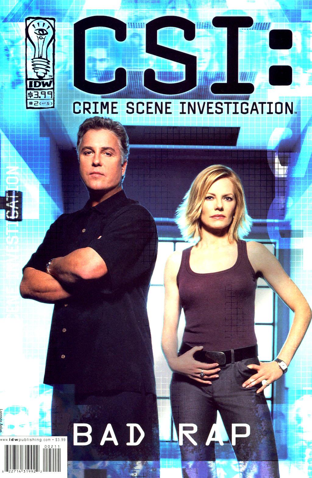 Read online CSI: Crime Scene Investigation: Bad Rap comic -  Issue #2 - 1