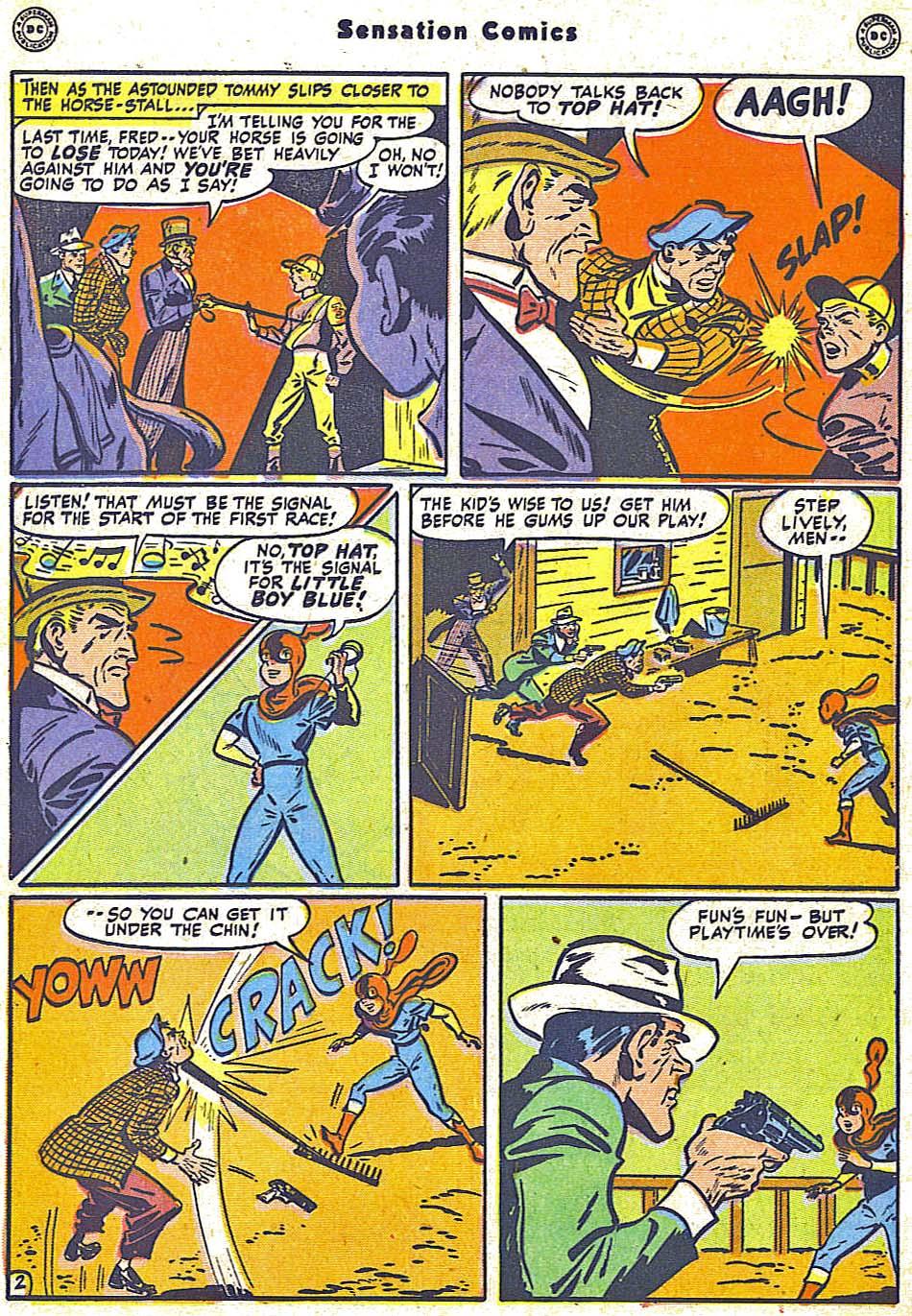 Read online Sensation (Mystery) Comics comic -  Issue #79 - 18