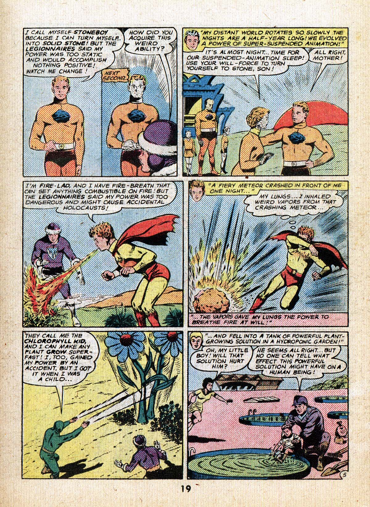 Read online Adventure Comics (1938) comic -  Issue #500 - 19