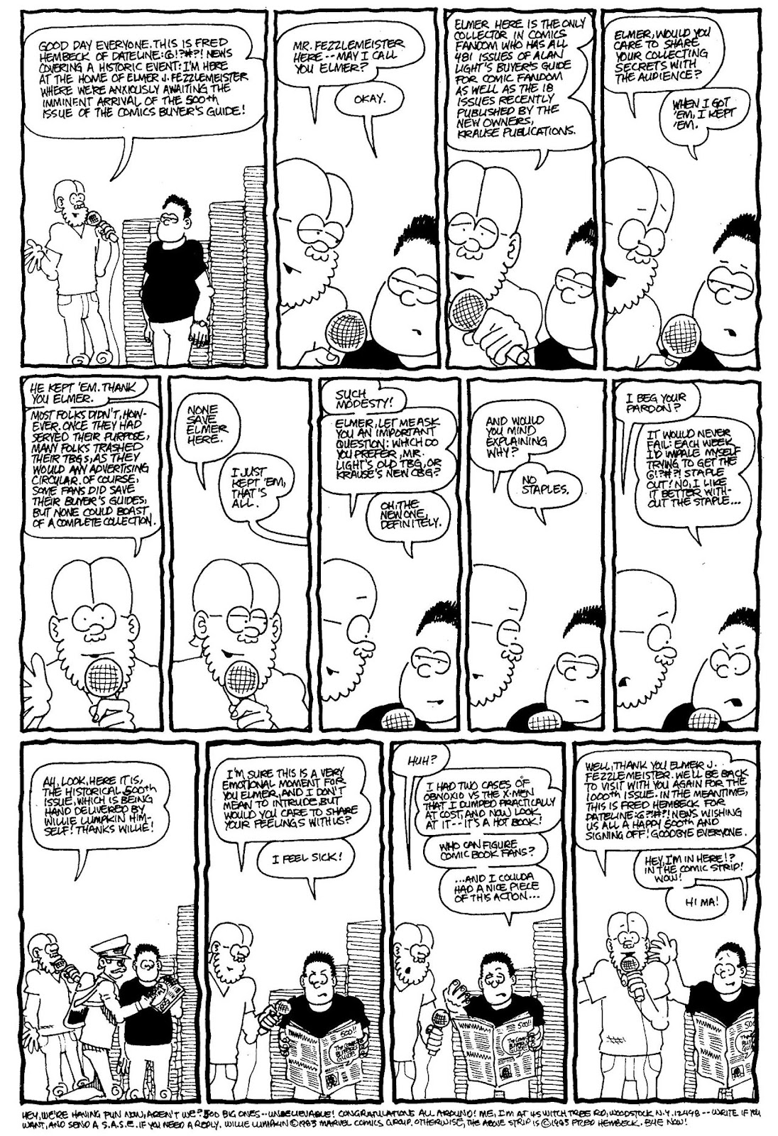 Read online The Nearly Complete Essential Hembeck Archives Omnibus comic -  Issue # TPB (Part 4) - 57