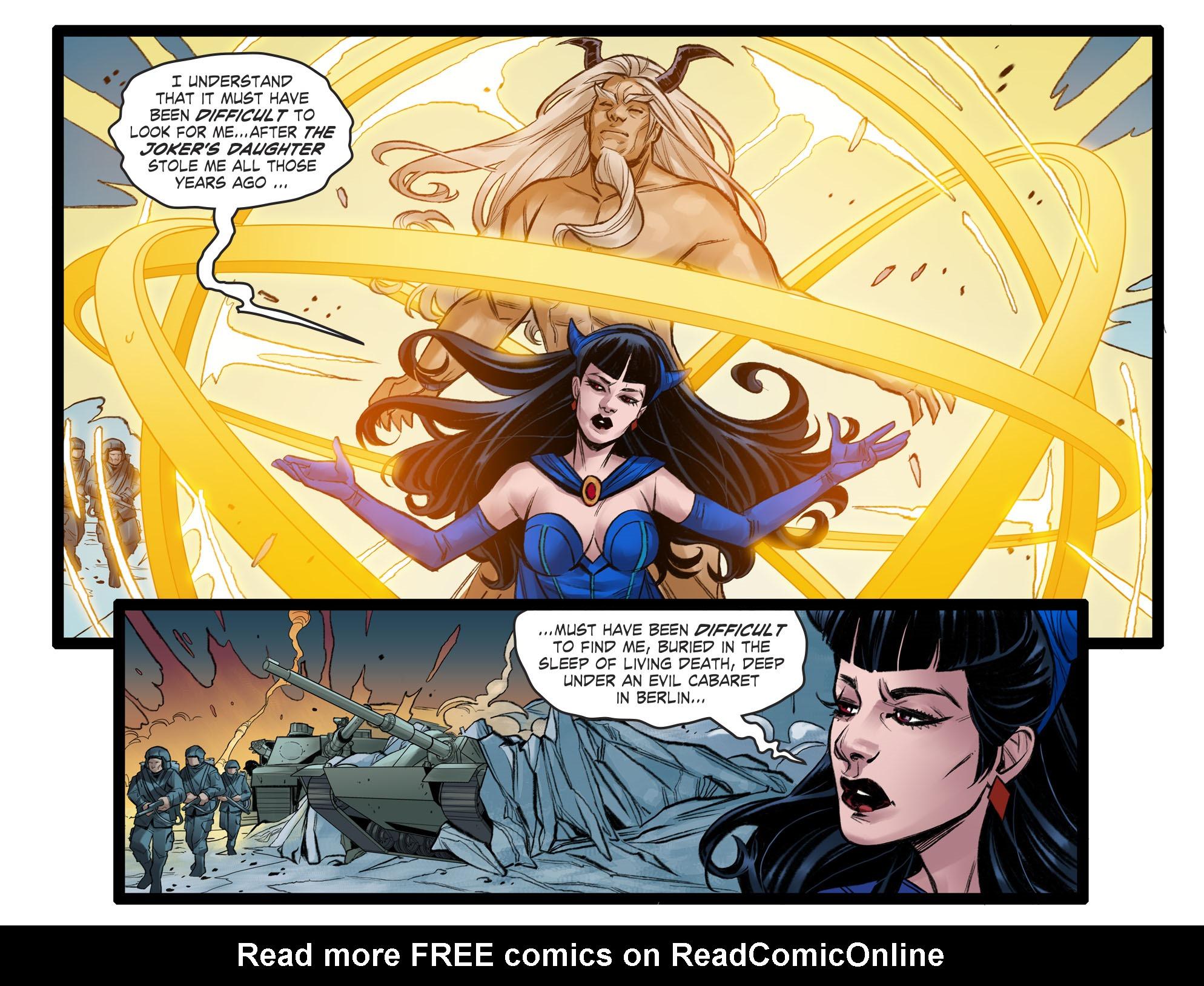 Read online DC Comics: Bombshells comic -  Issue #96 - 6