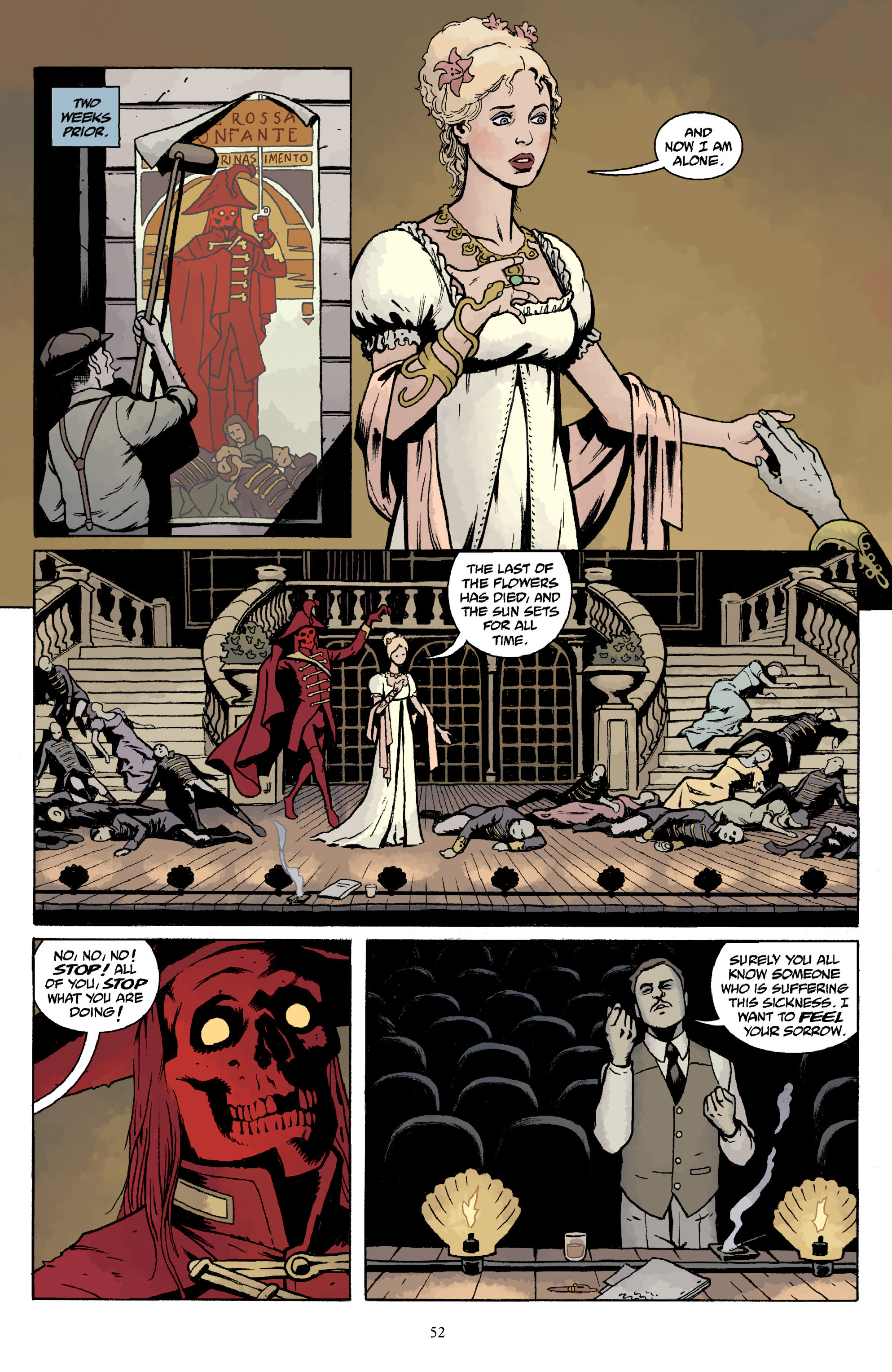 Read online Baltimore Volume 3: A Passing Stranger and Other Stories comic -  Issue # Full - 54