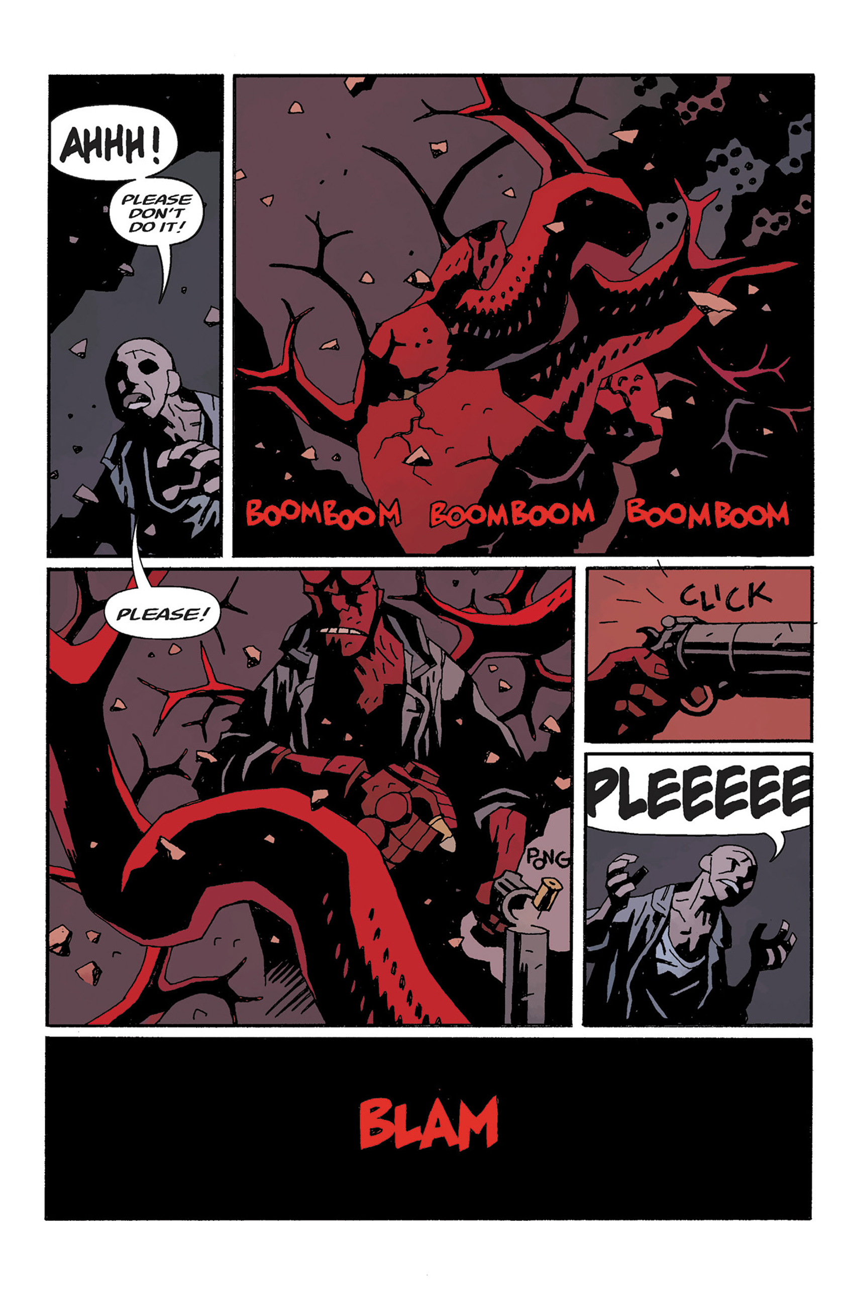 Read online Hellboy: The Crooked Man and Others comic -  Issue # TPB - 132