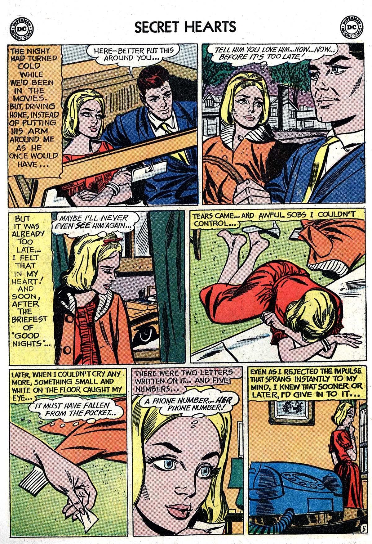 Read online Secret Hearts comic -  Issue #82 - 22