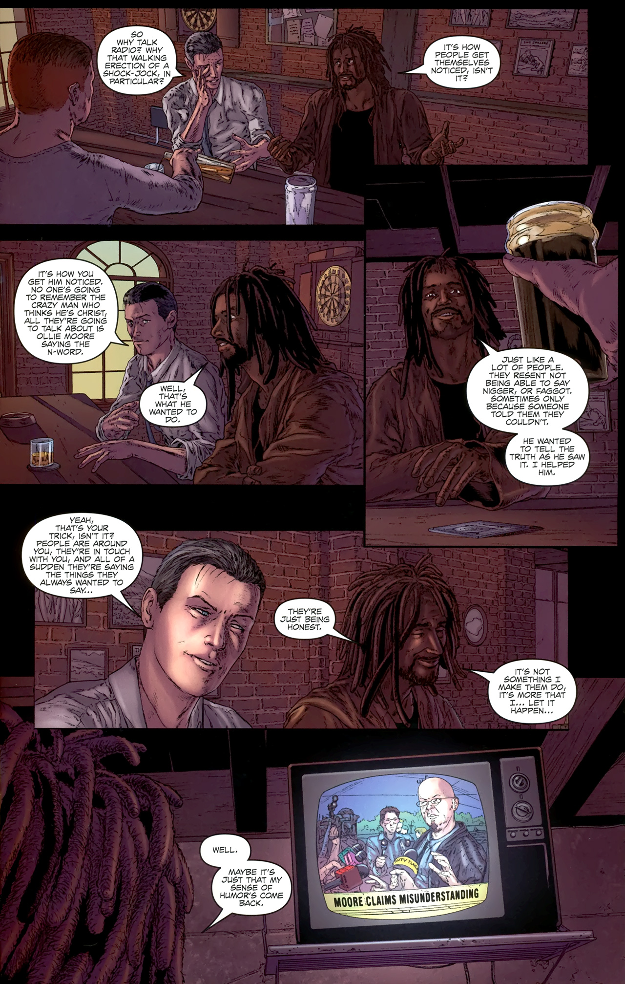 Read online Chronicles of Wormwood: The Last Battle comic -  Issue #4 - 6