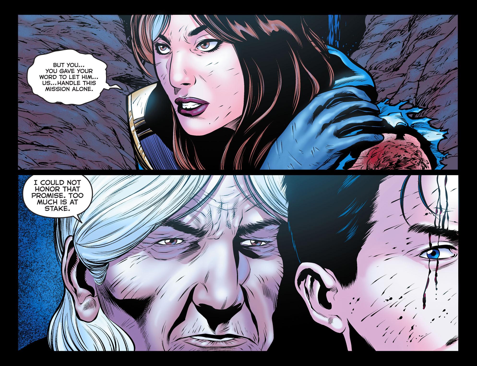 Read online Arrow: The Dark Archer comic -  Issue #11 - 4