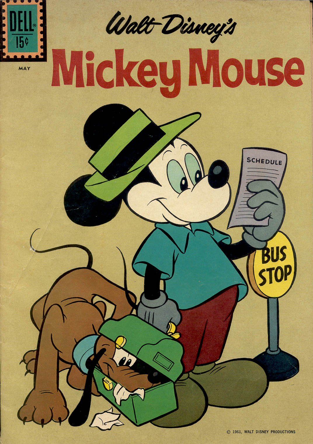 Walt Disney's Mickey Mouse issue 77 - Page 1