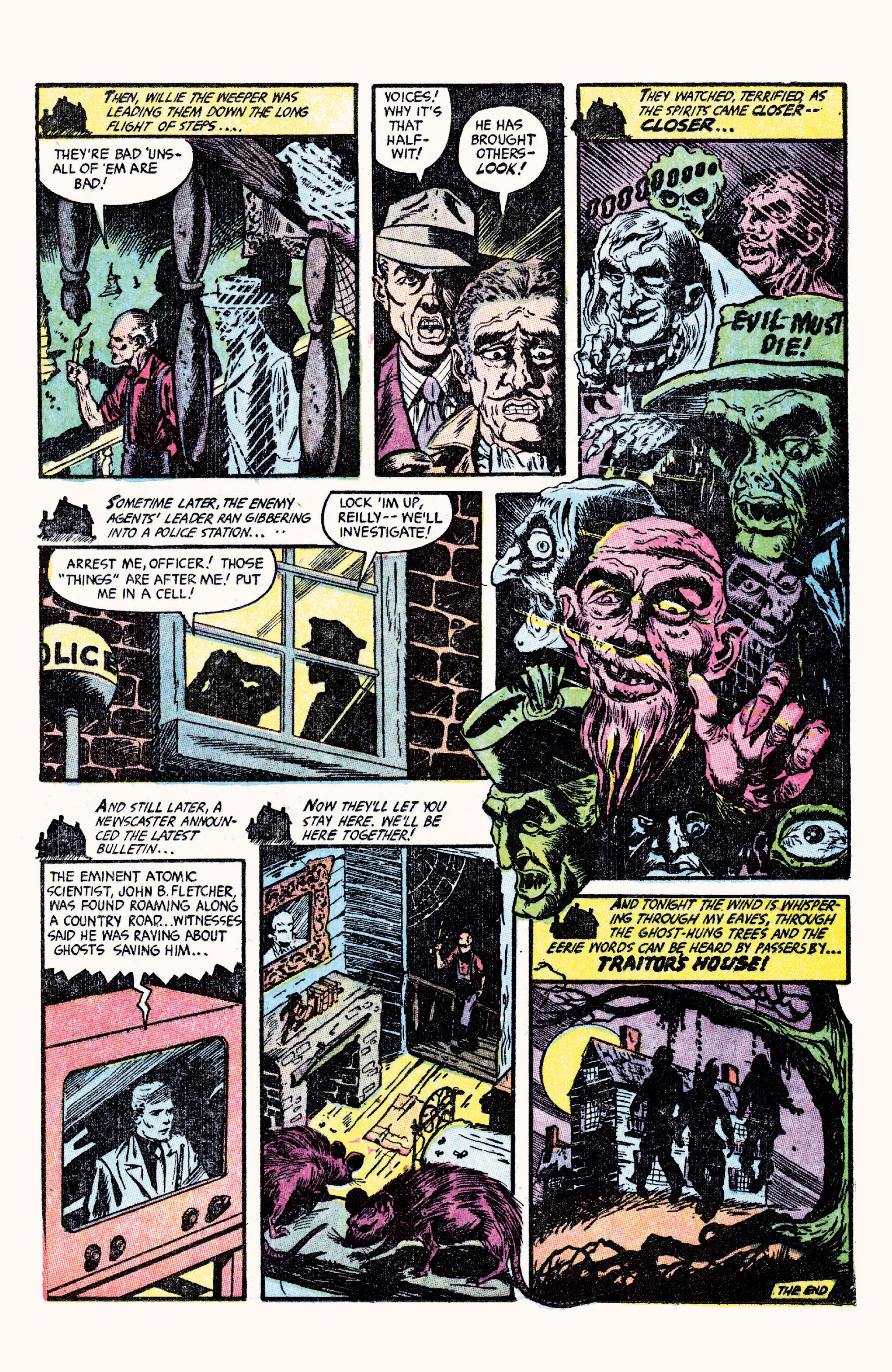 Read online Haunted Horror comic -  Issue #27 - 42