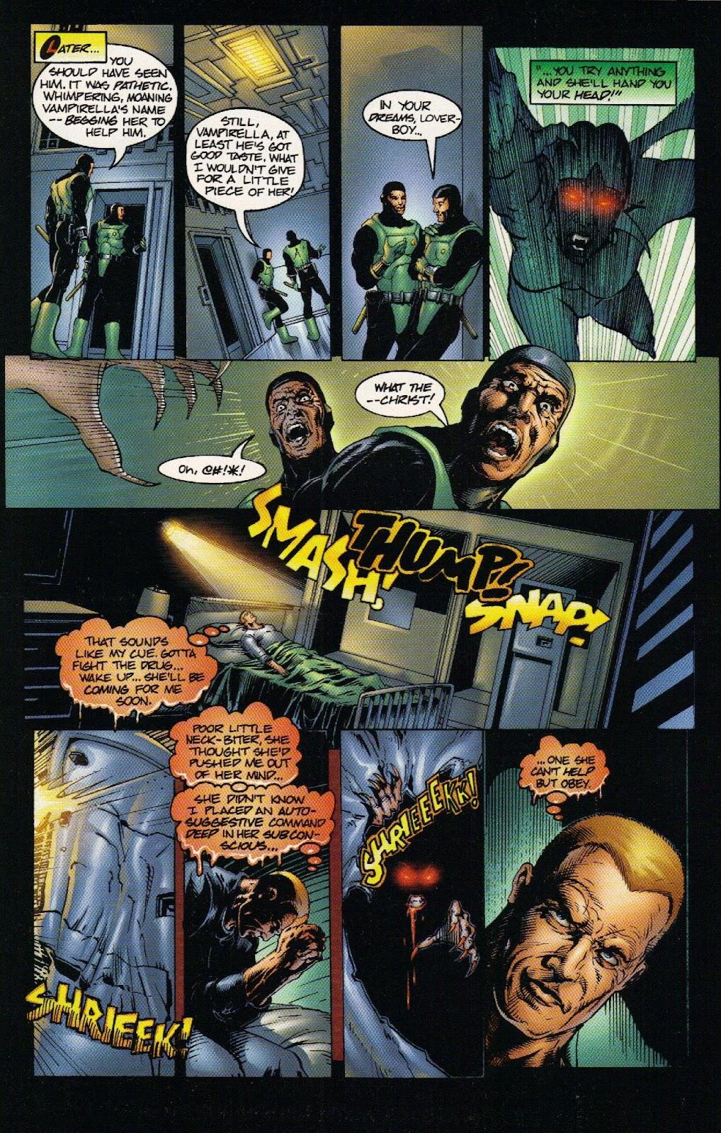 Vampirella vs Hemorrhage issue 1 - Page 24