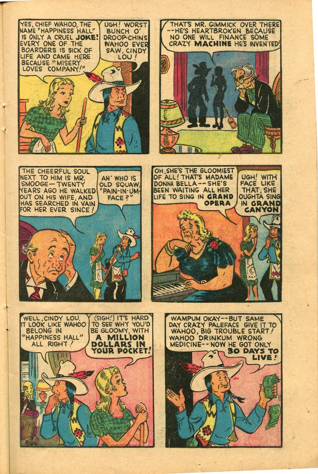 Read online Famous Funnies comic -  Issue #147 - 19