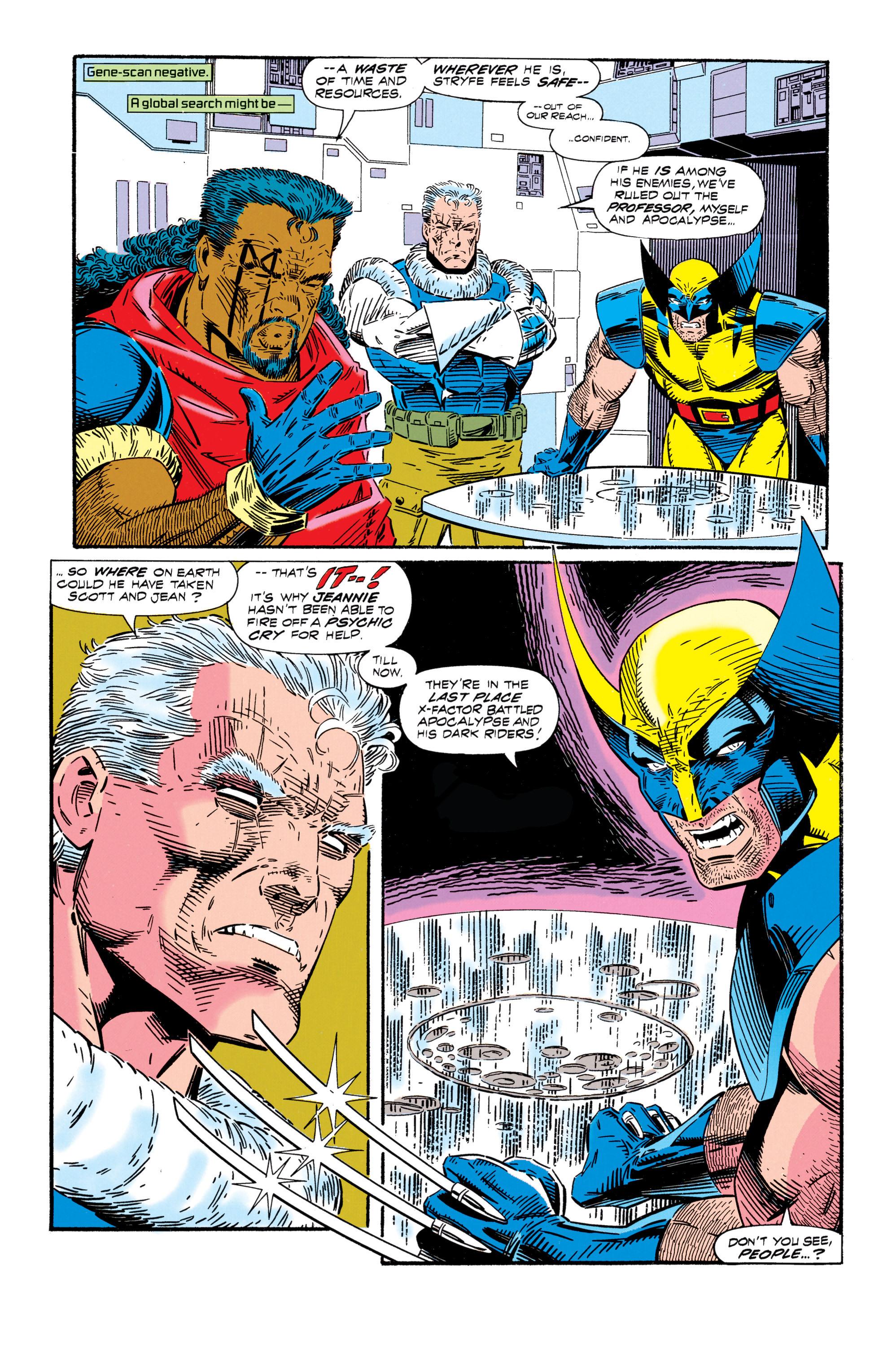 Read online Uncanny X-Men (1963) comic -  Issue #296 - 23