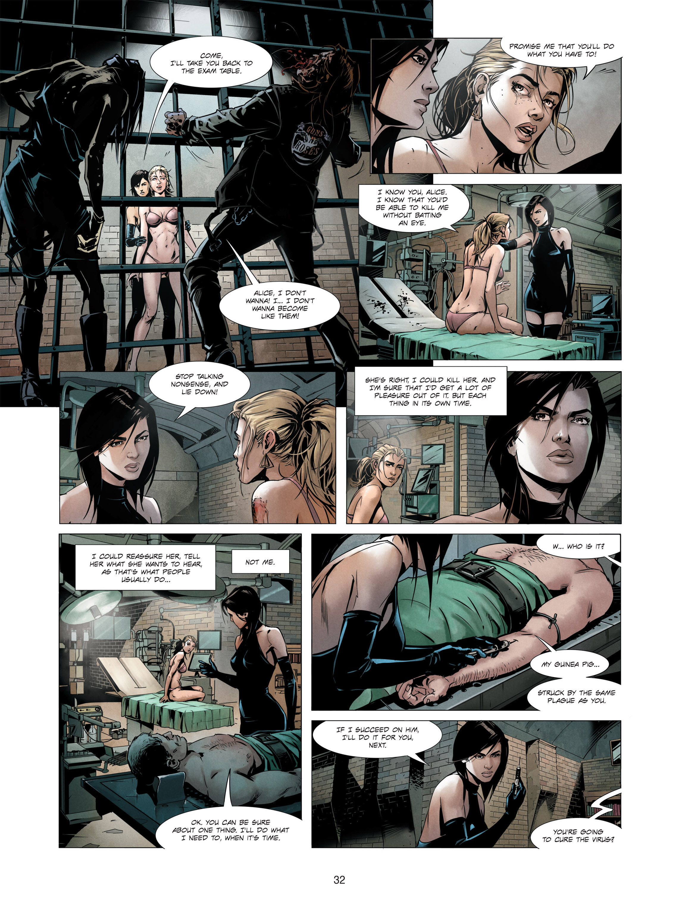 Read online Alice Matheson comic -  Issue #3 - 32