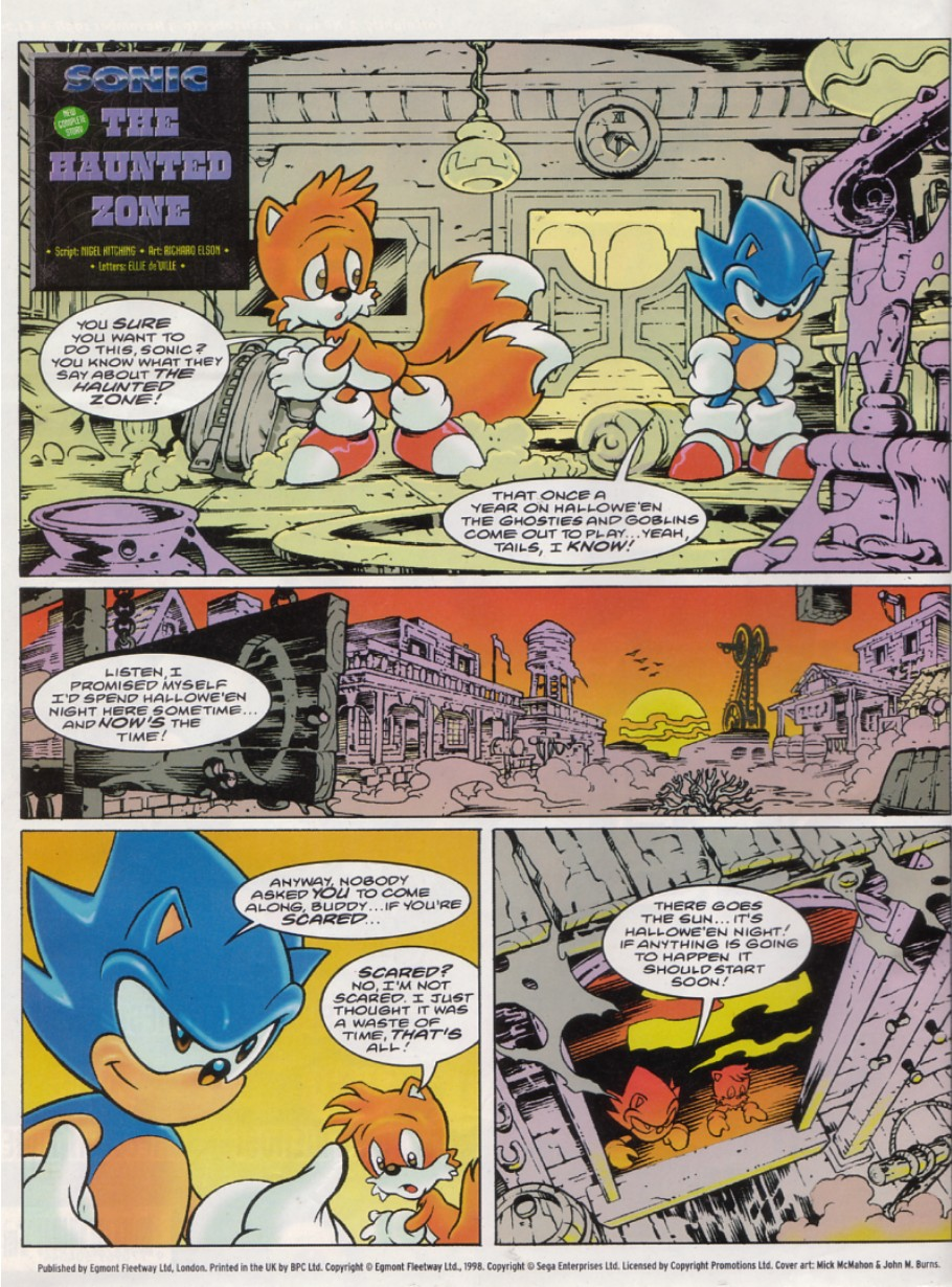 Read online Sonic the Comic comic -  Issue #141 - 2