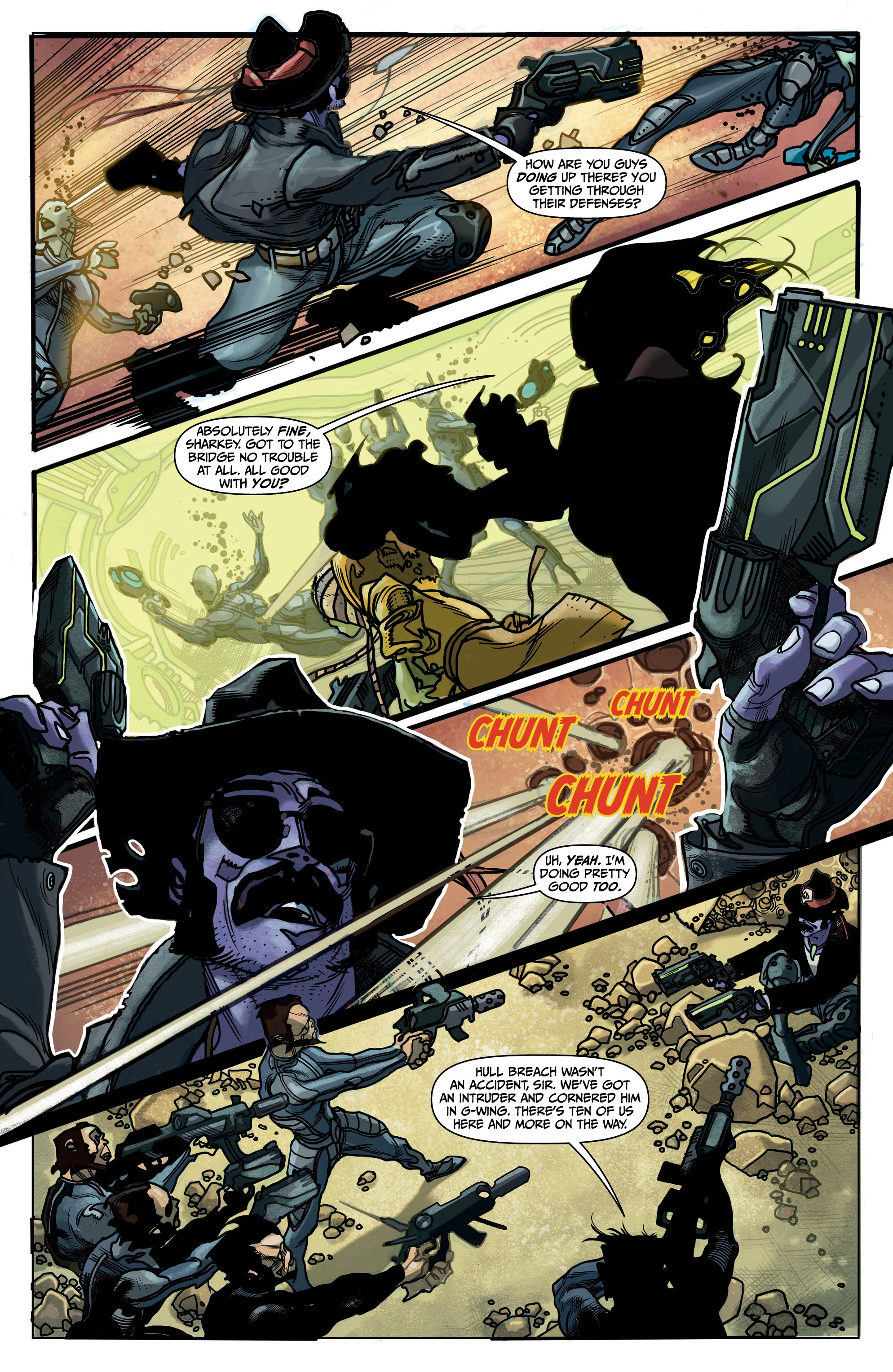 Sharkey the Bounty Hunter 5 Page 17