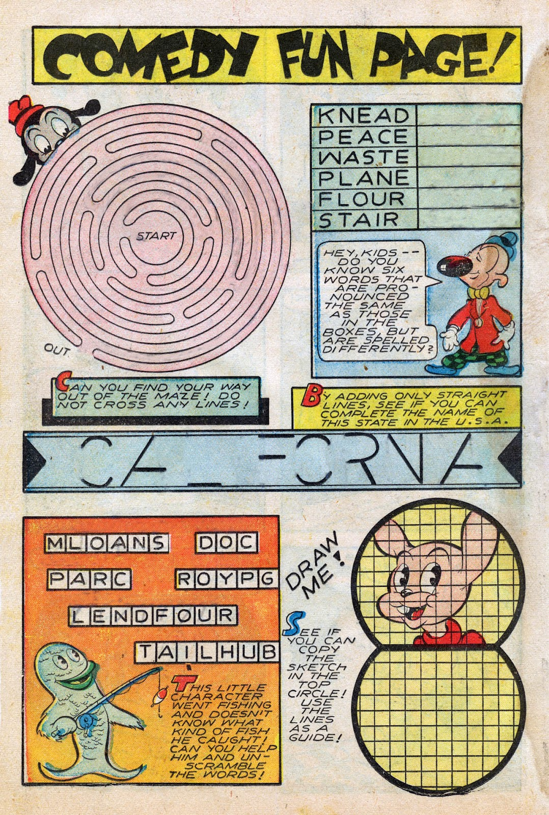 Read online Comedy Comics (1942) comic -  Issue #27 - 18