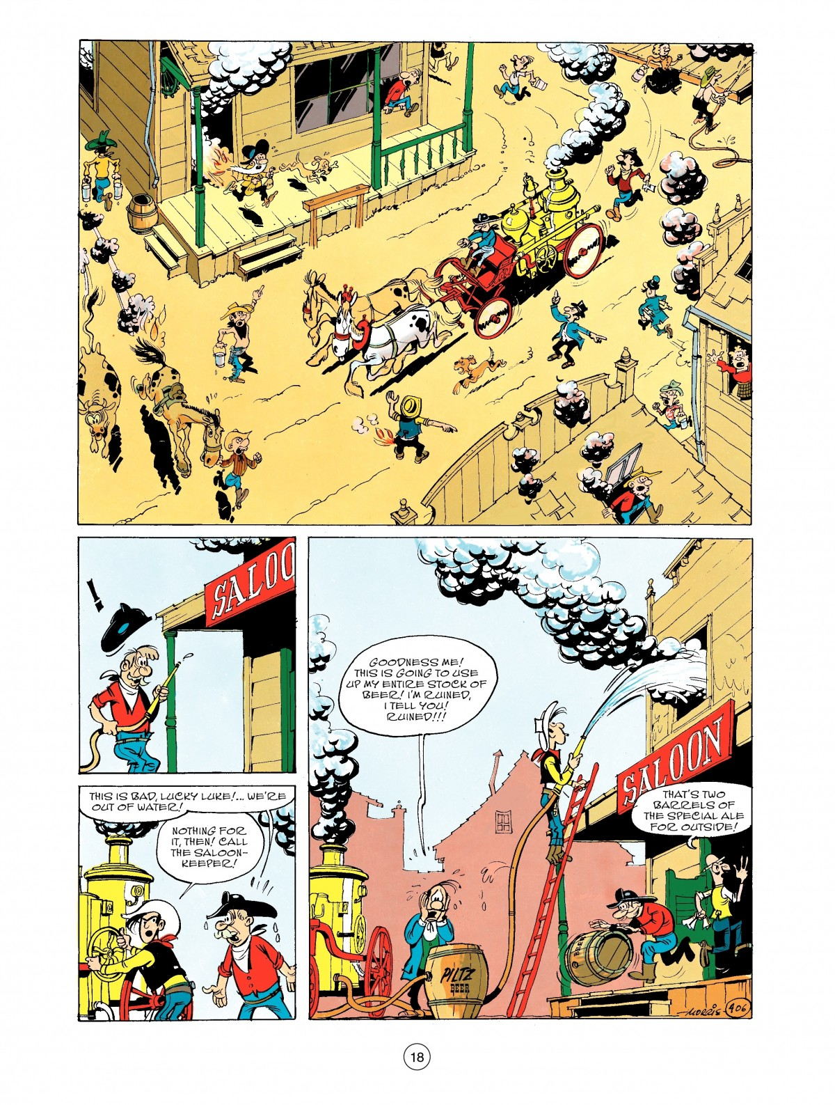 Read online A Lucky Luke Adventure comic -  Issue #43 - 18