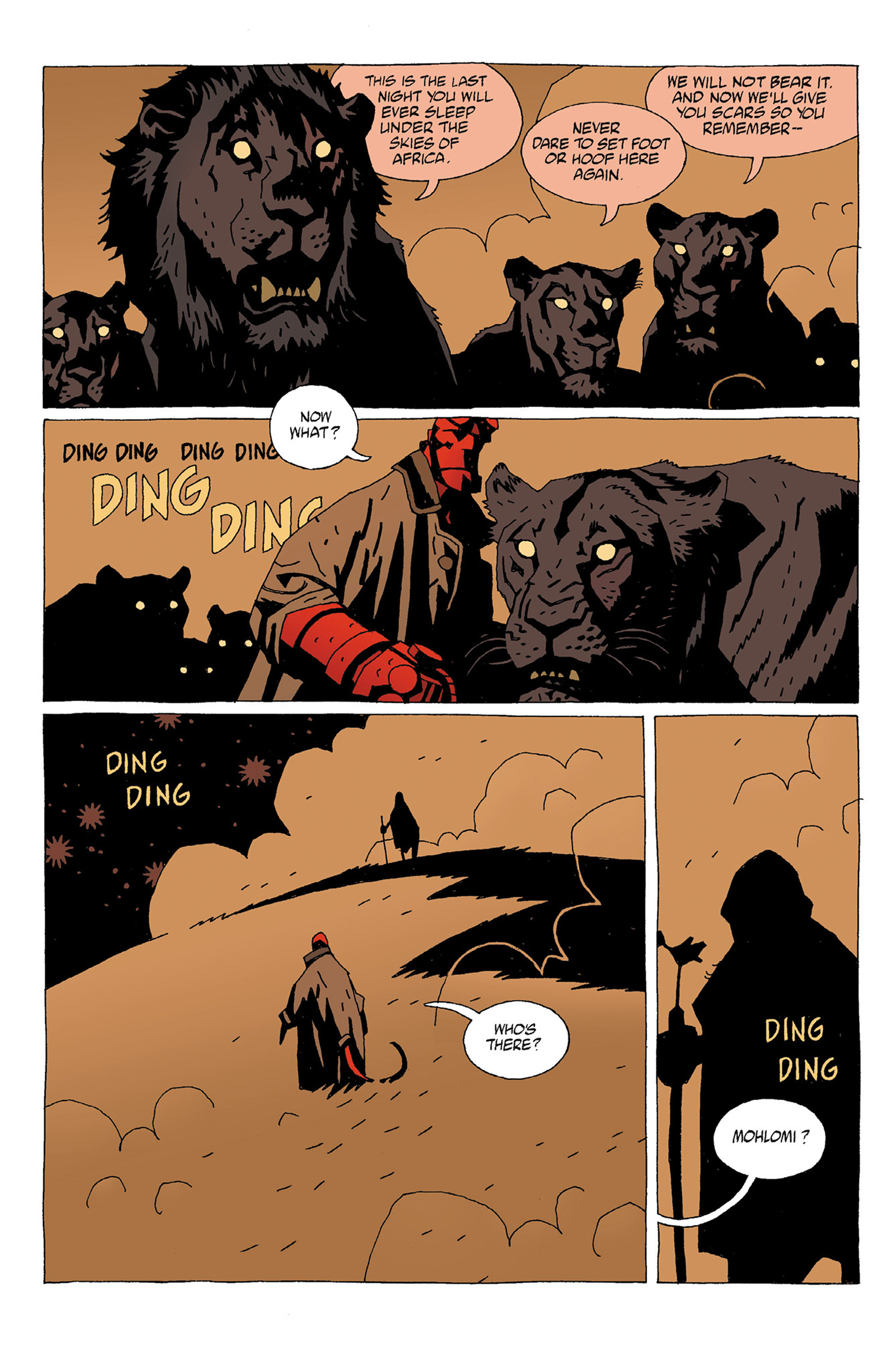 Read online Hellboy: Strange Places comic -  Issue # TPB - 16