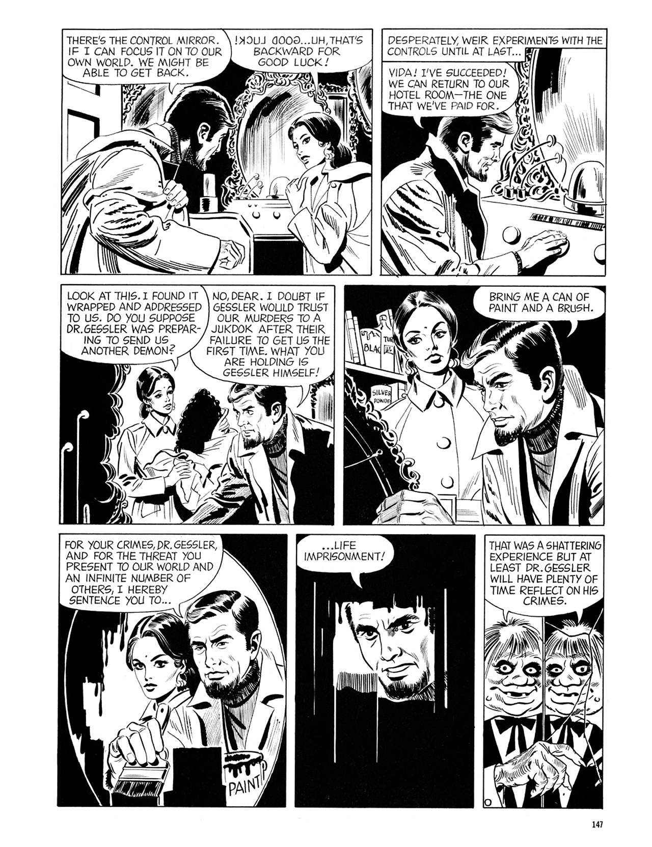Read online Eerie Archives comic -  Issue # TPB 6 - 147