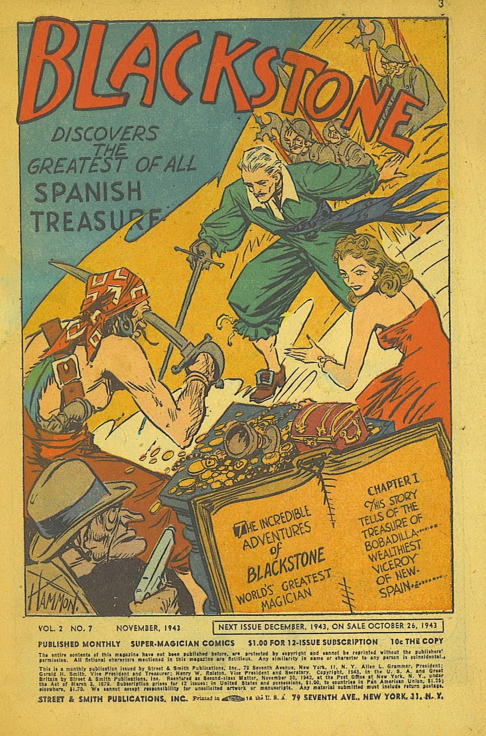 Read online Super-Magician Comics comic -  Issue #19 - 3