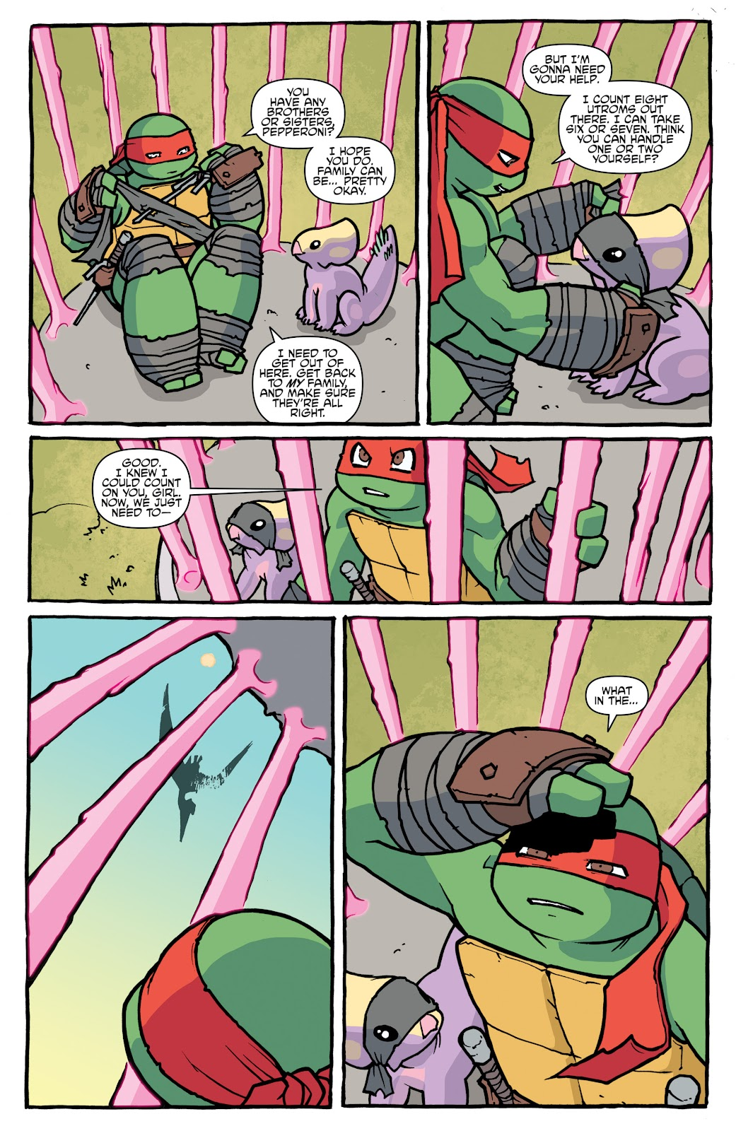 Read online Teenage Mutant Ninja Turtles: The IDW Collection comic -  Issue # TPB 5 (Part 1) - 20