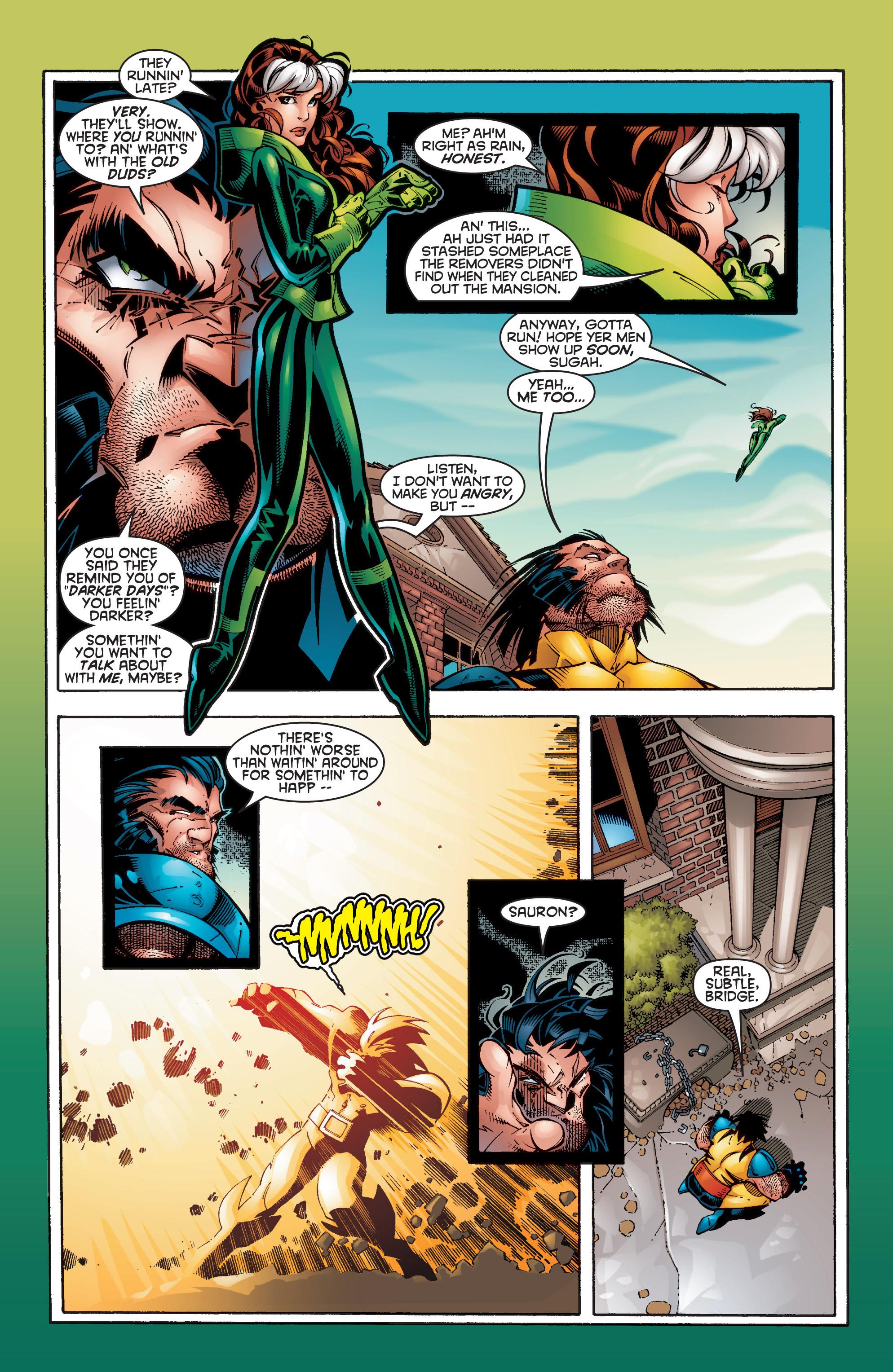 Read online Uncanny X-Men (1963) comic -  Issue #356 - 9