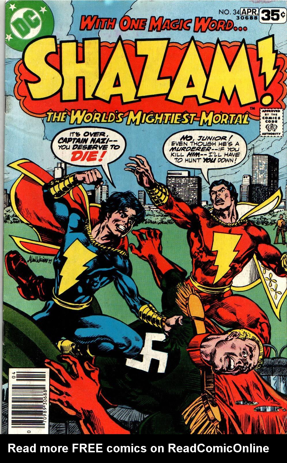 Read online Shazam! (1973) comic -  Issue #34 - 1