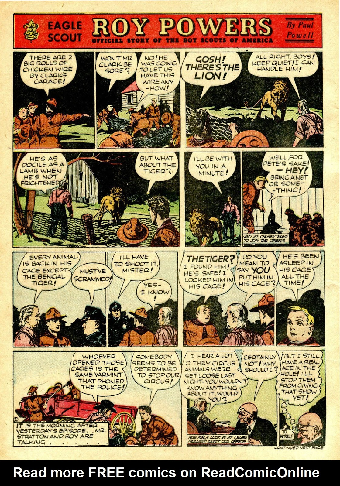 Read online Famous Funnies comic -  Issue #63 - 5