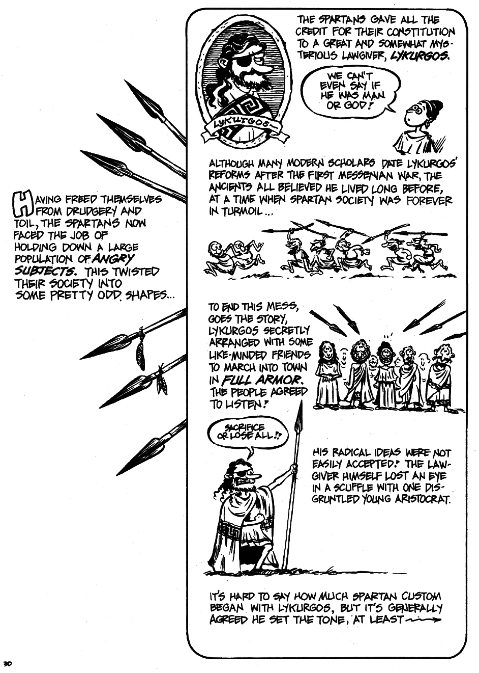 Read online The Cartoon History of the Universe comic -  Issue #5 - 32