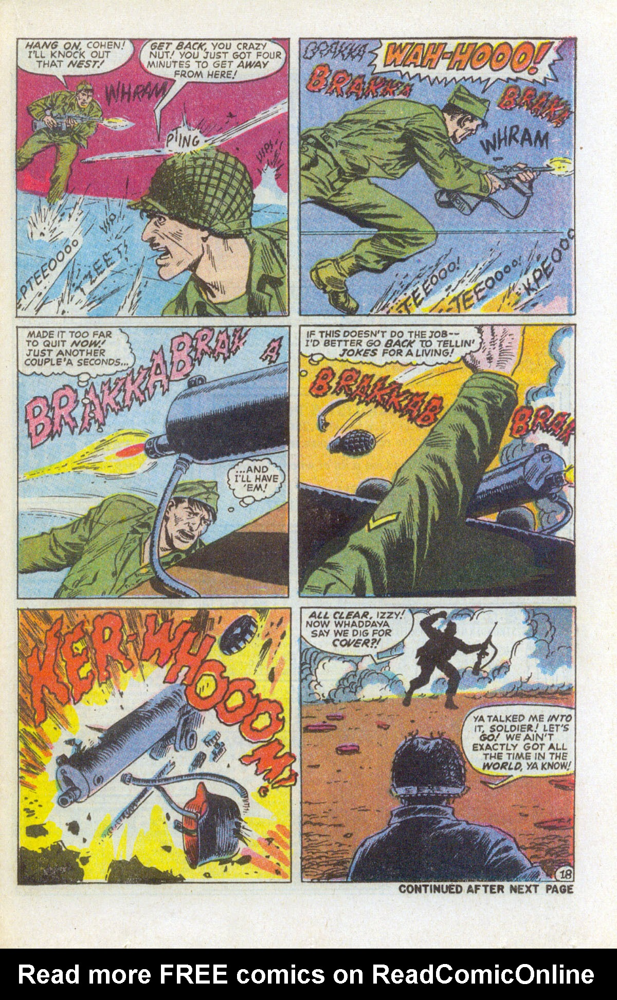 Read online Sgt. Fury comic -  Issue #63 - 25