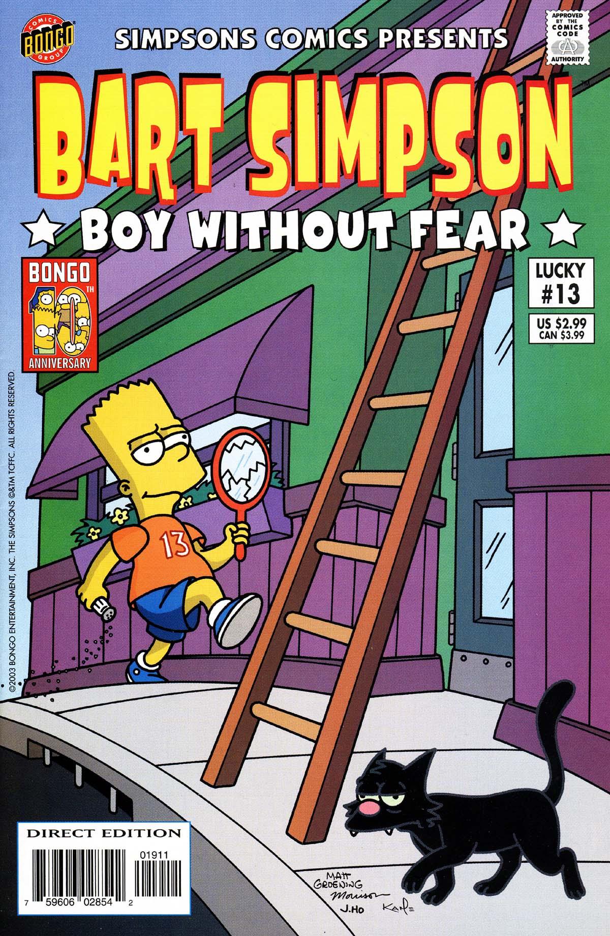 Read online Simpsons Comics Presents Bart Simpson comic -  Issue #13 - 1