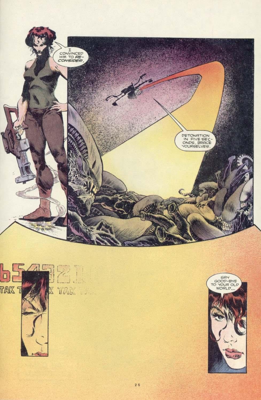 Read online Aliens: Earth War comic -  Issue #3 - 27