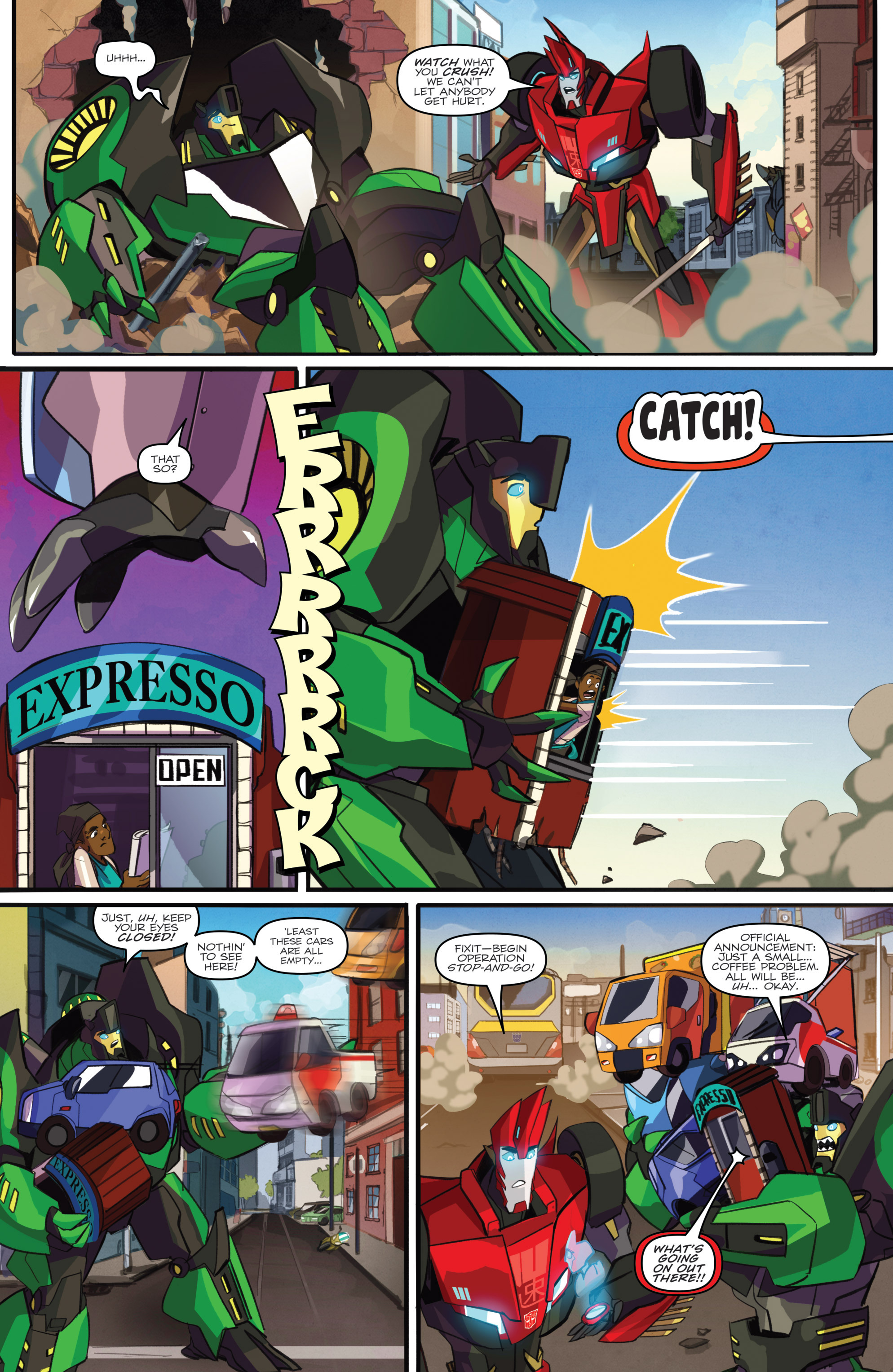 Read online Transformers: Robots In Disguise (2015) comic -  Issue #2 - 8