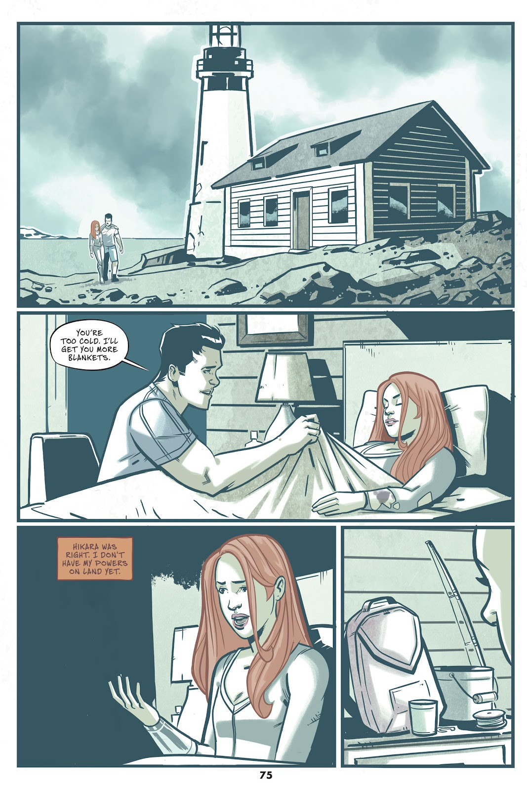 Read online Mera: Tidebreaker comic -  Issue # TPB (Part 1) - 75