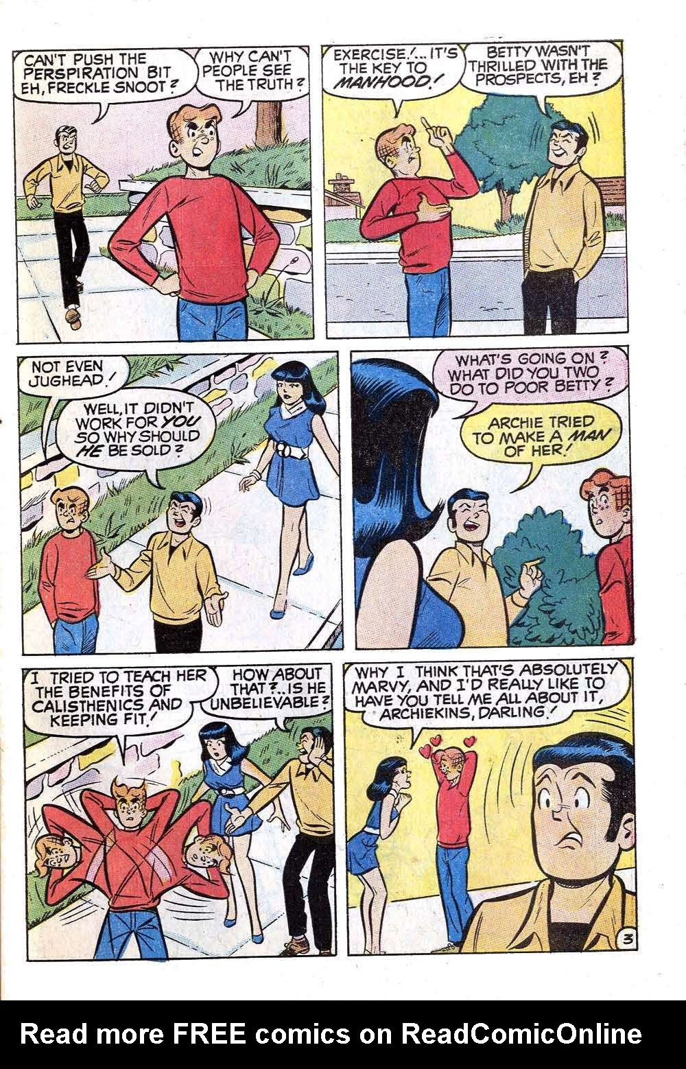 Read online Archie (1960) comic -  Issue #201 - 31