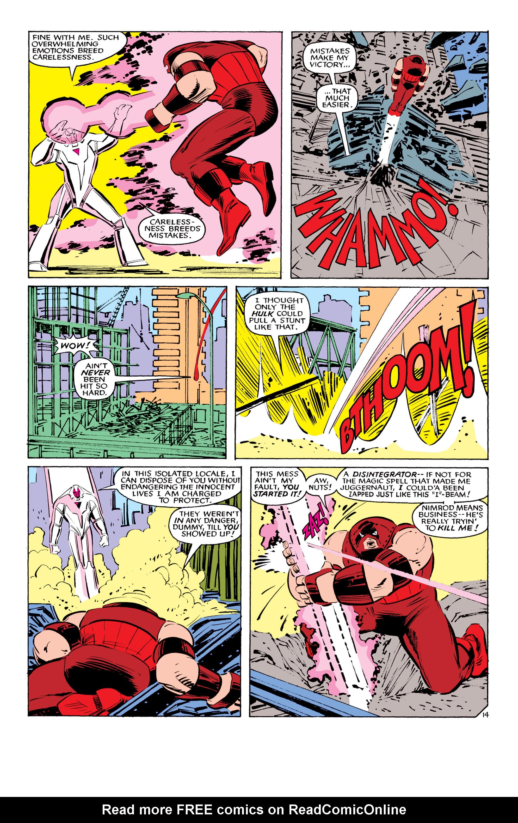 Read online Uncanny X-Men (1963) comic -  Issue #194 - 15