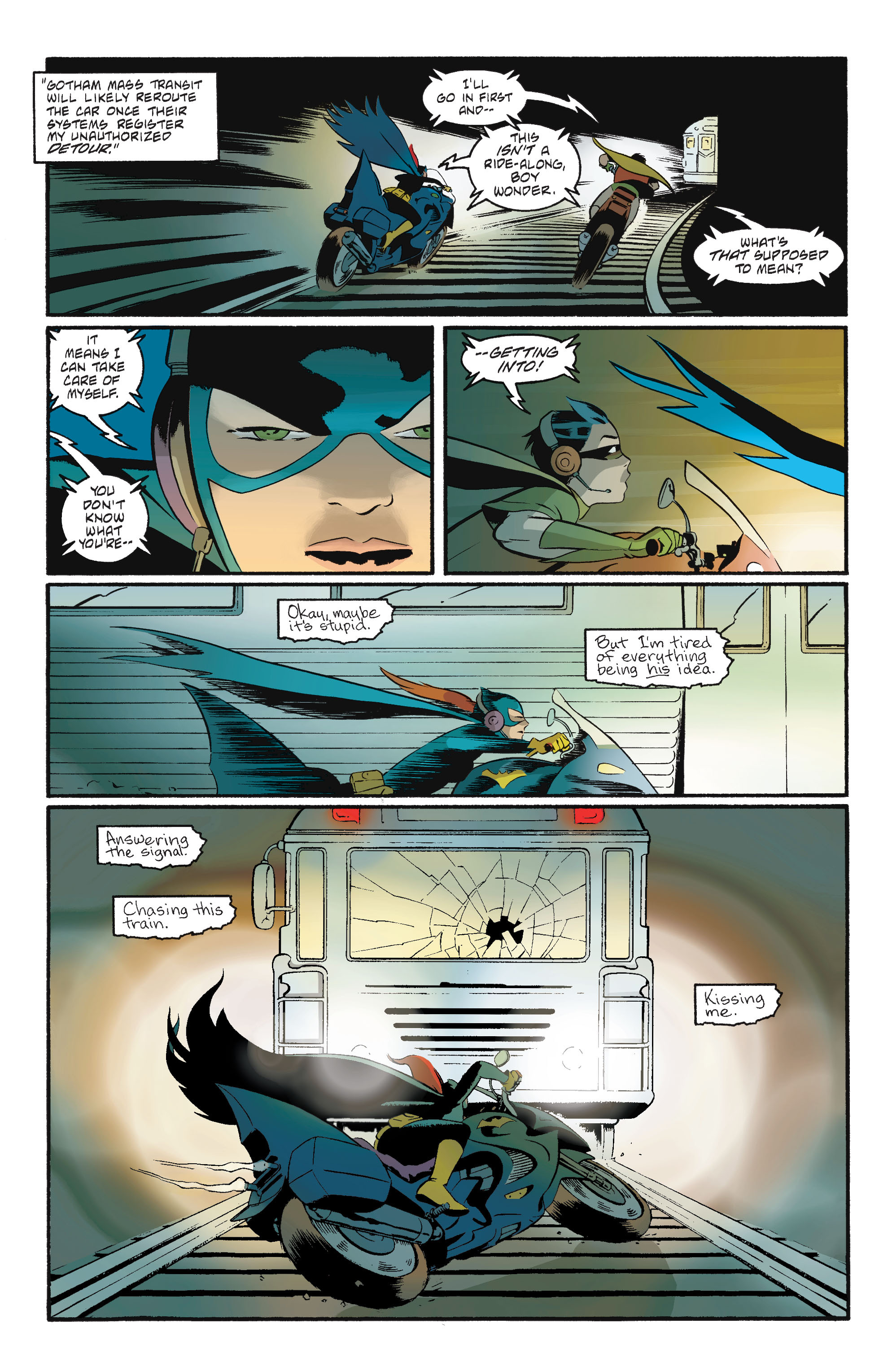 Read online Batgirl/Robin: Year One comic -  Issue # TPB 2 - 165