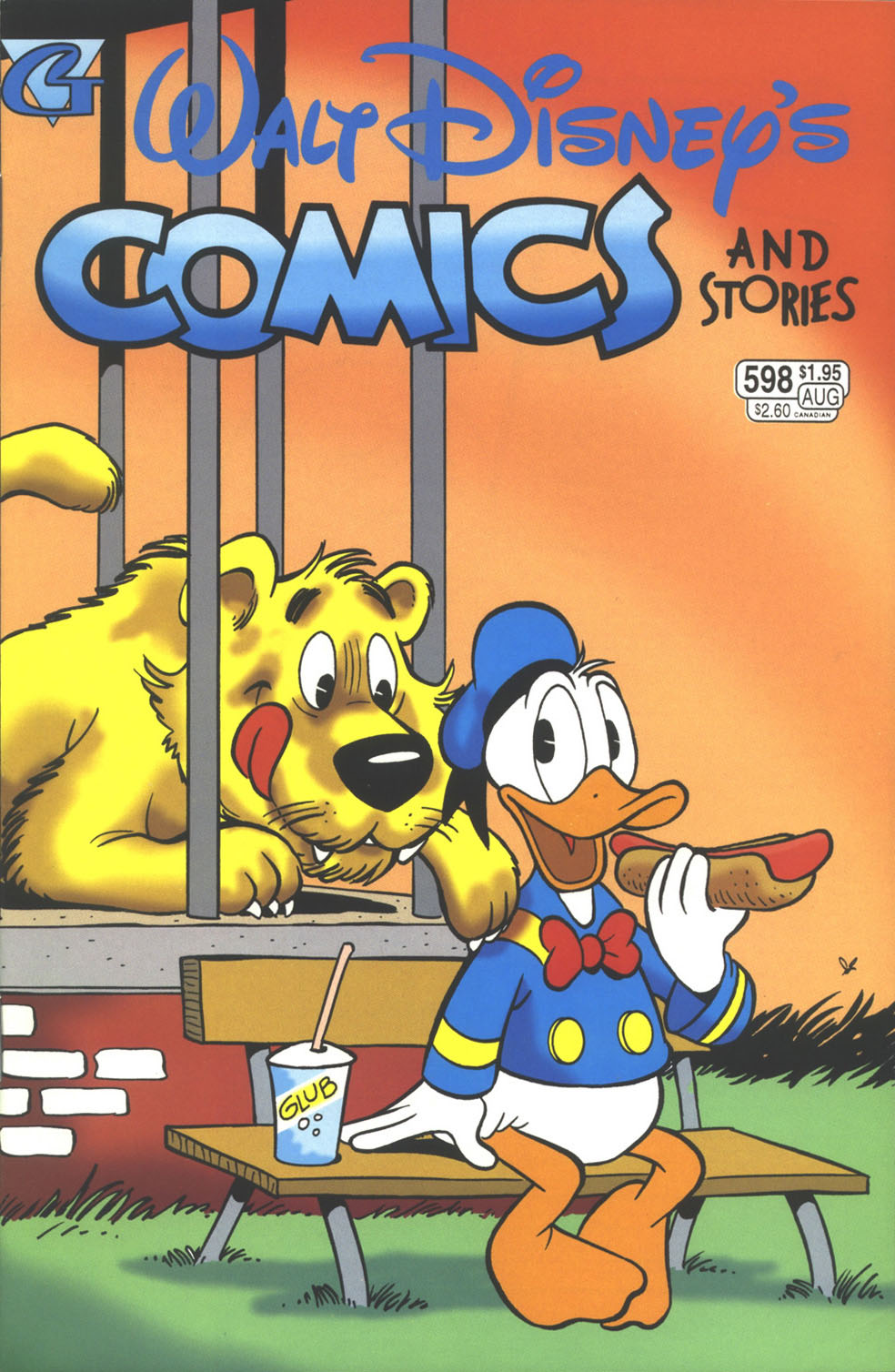 Walt Disney's Comics and Stories issue 598 - Page 1