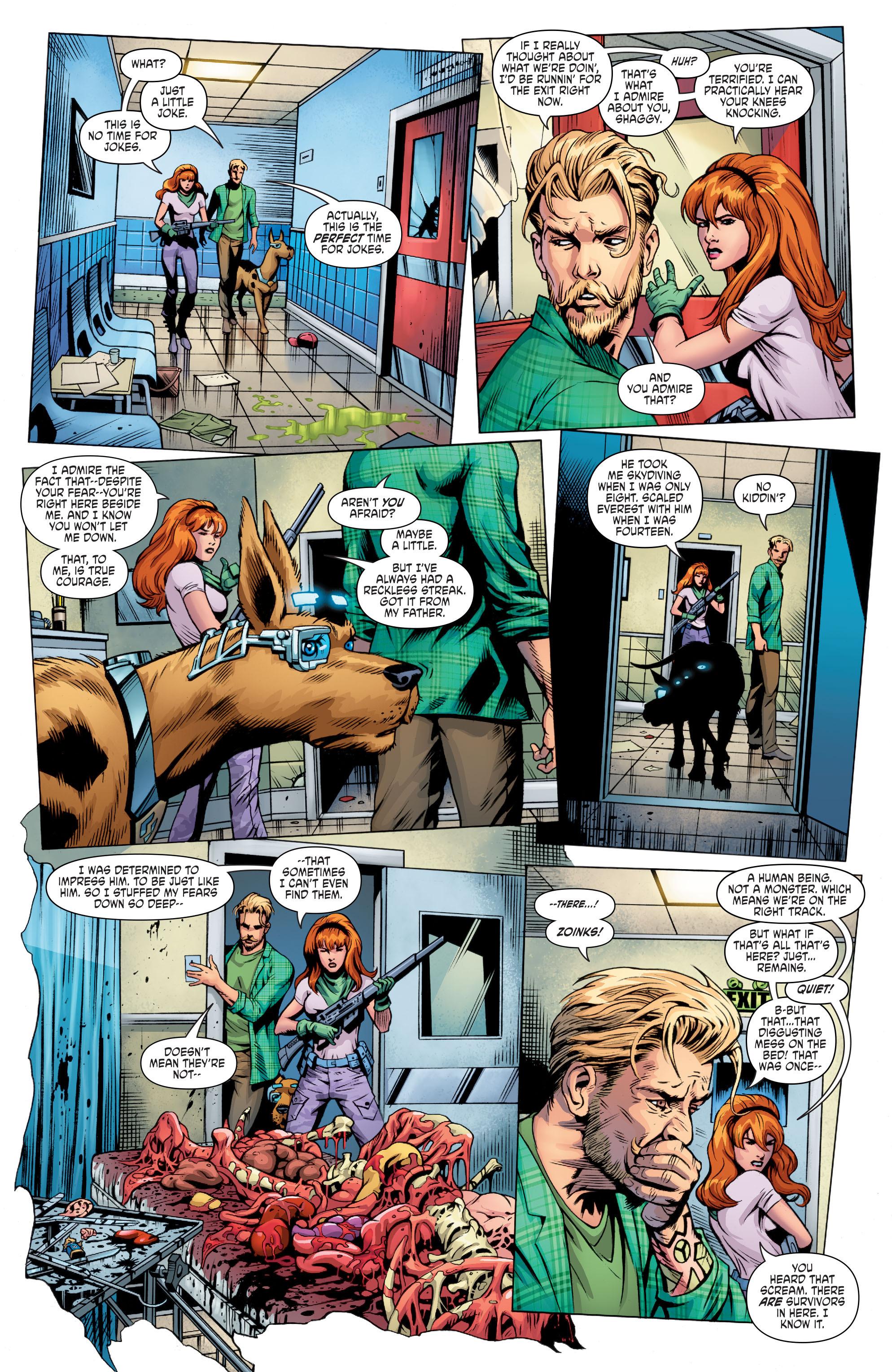 Read online Scooby Apocalypse comic -  Issue #8 - 12