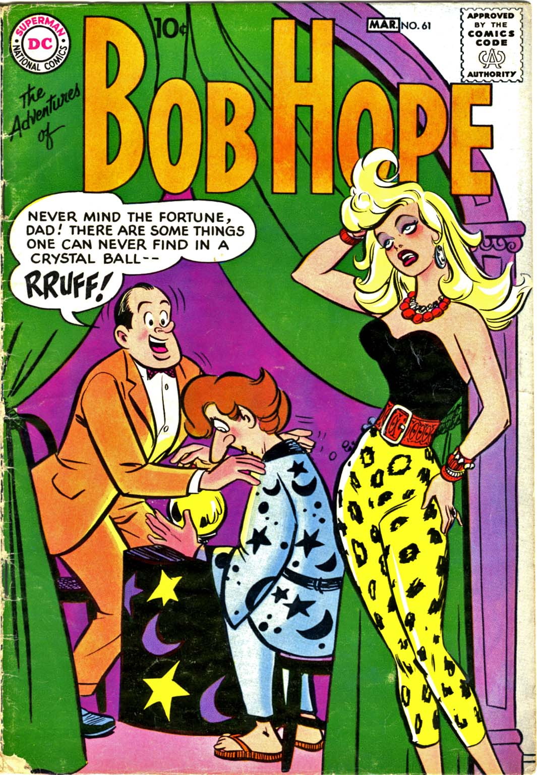 The Adventures of Bob Hope issue 61 - Page 1
